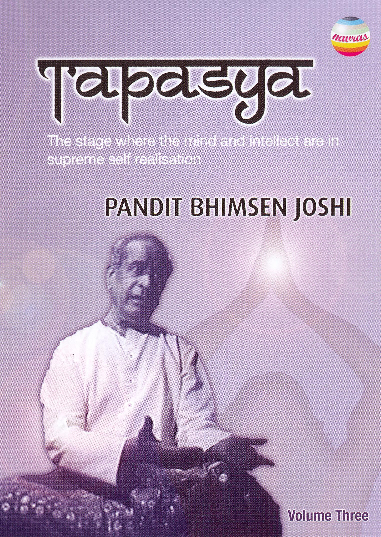 Tapasya, Vol. 3: Pandit Bhimsen Joshi