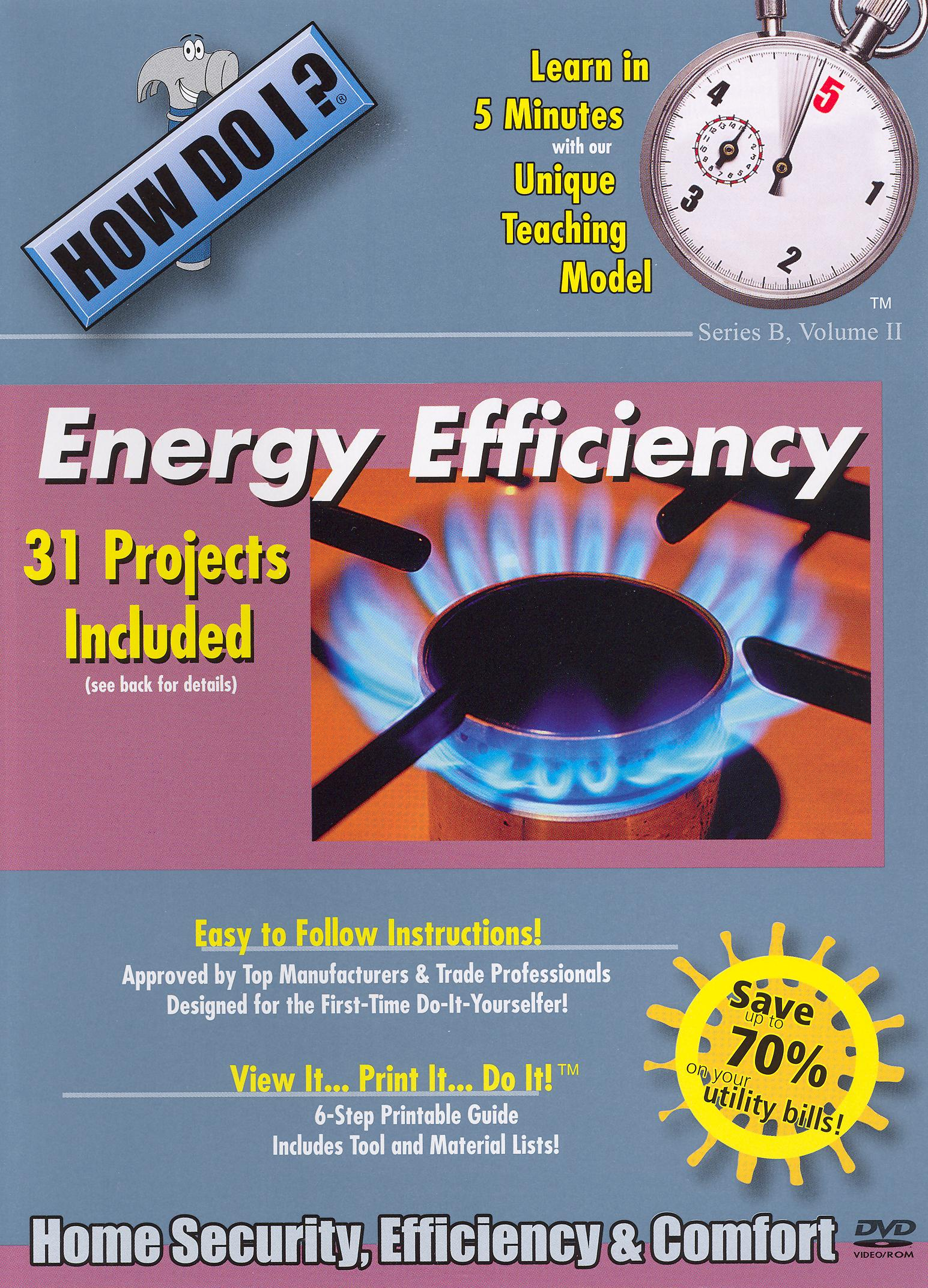 How Do I: Energy Efficiency