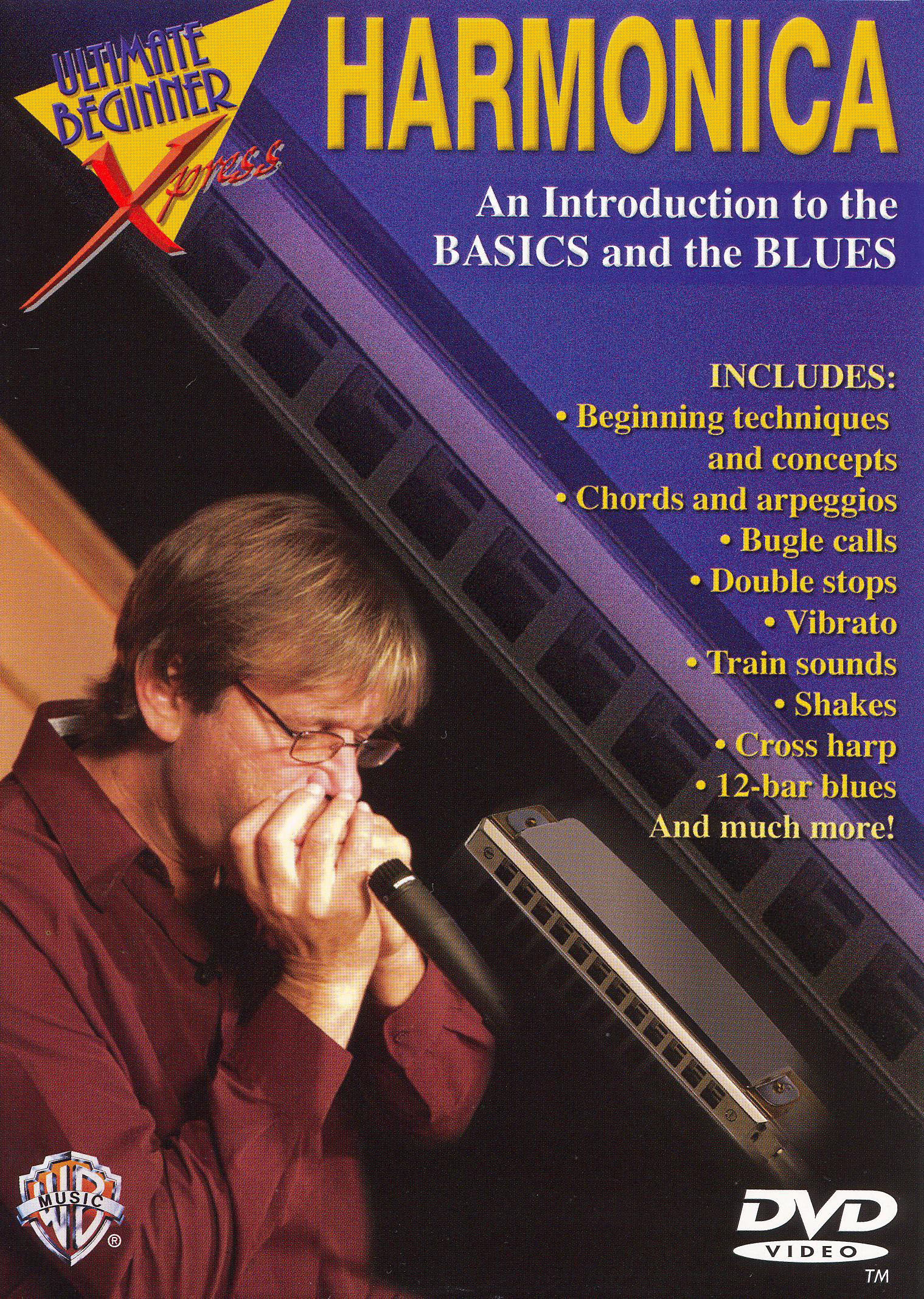 Ultimate Beginner Xpress: An Introduction to Musical Styles - Harmonica
