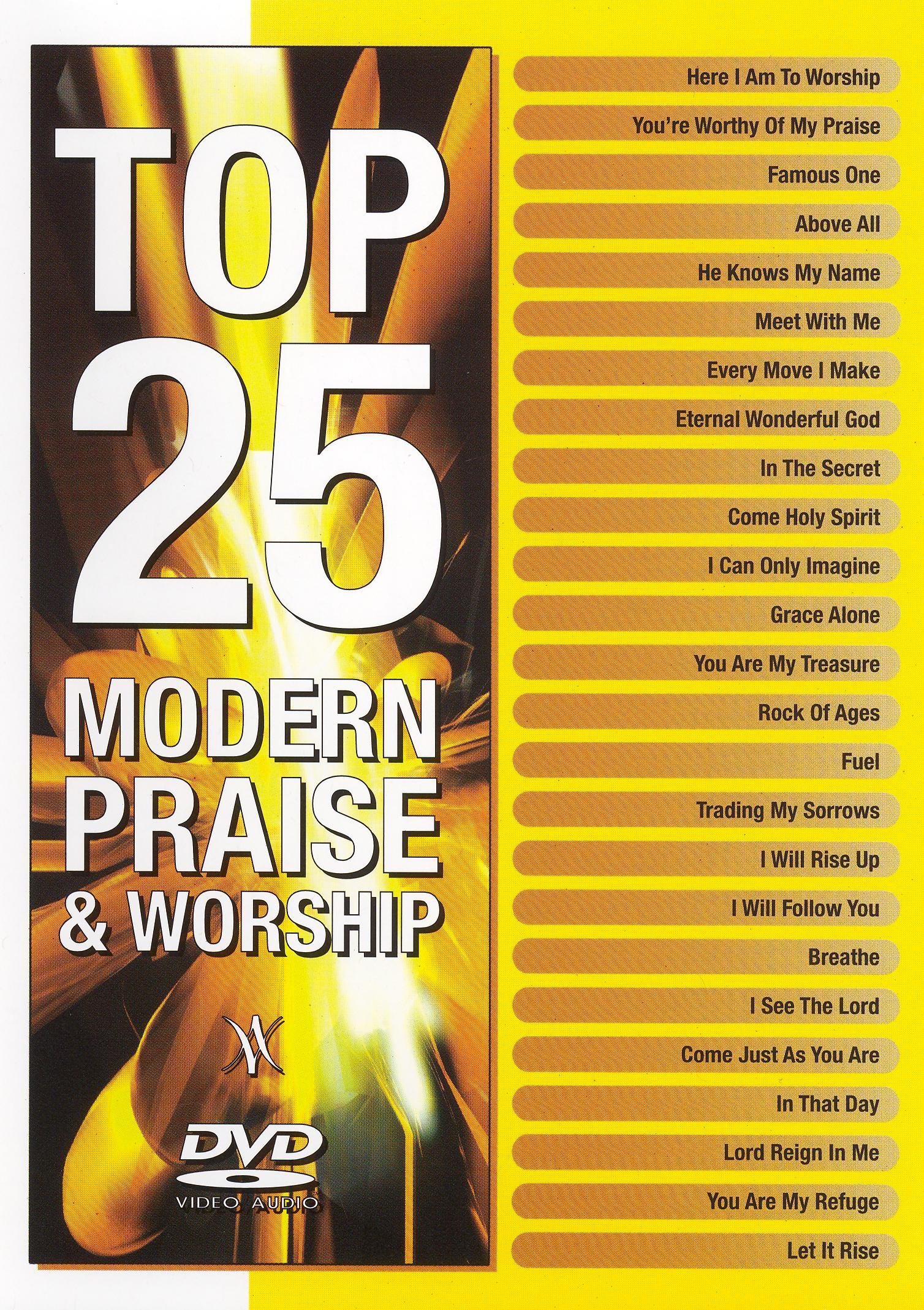 Top 25 Modern Praise and Worship DVD