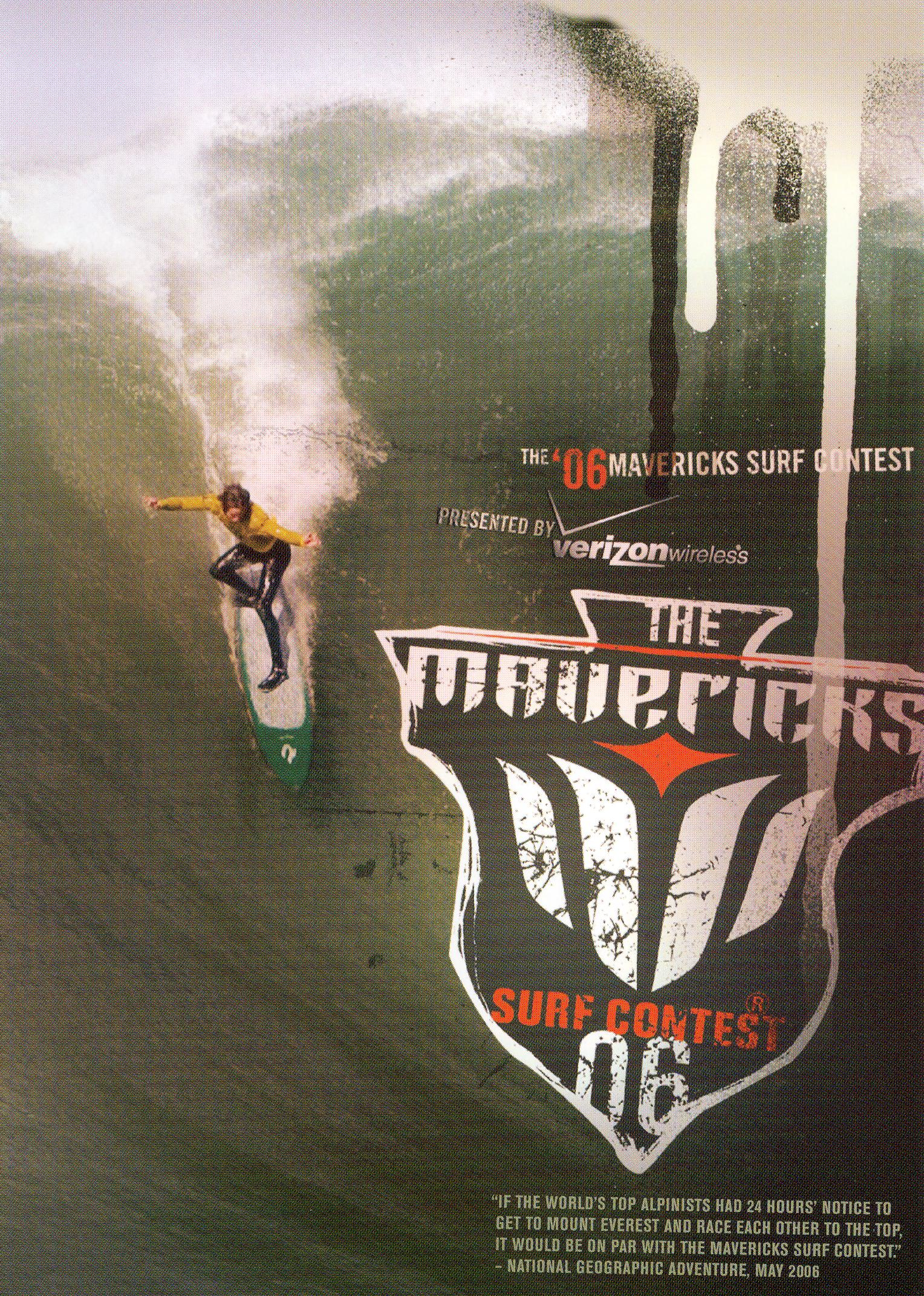 The Mavericks Surf Contest 2006