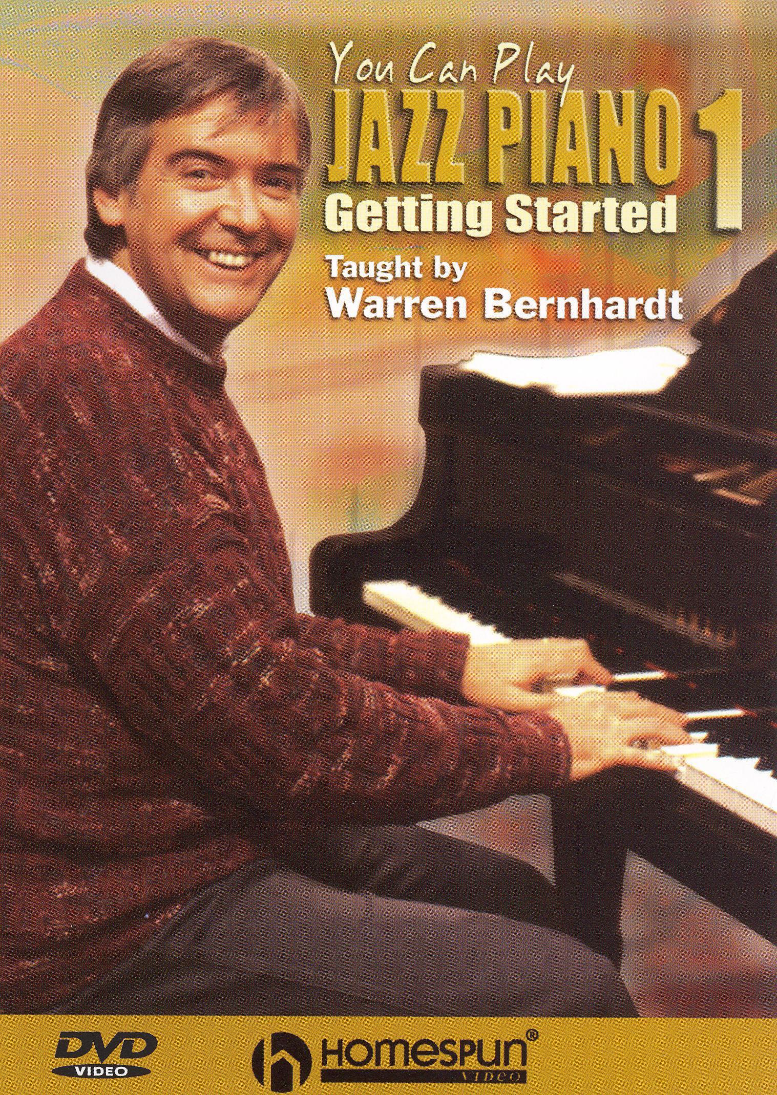 Warren Bernhardt: You Can Play Jazz Piano