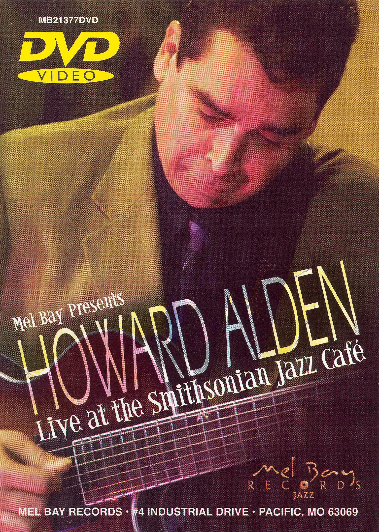 Howard Alden: Live at the Smithsonian Jazz Cafe