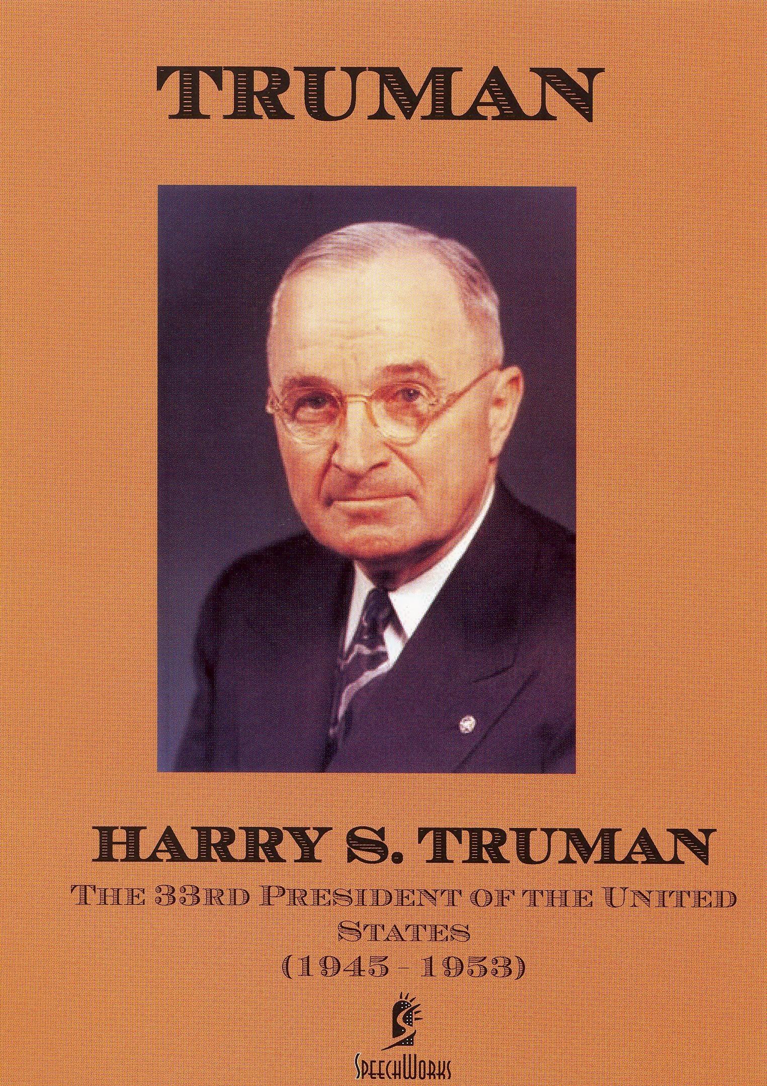 an introduction to the history of the president harry s truman Truman, harry s - 33rd president carefully review the introduction, including president truman the united states history index: truman's tenure of 1945.