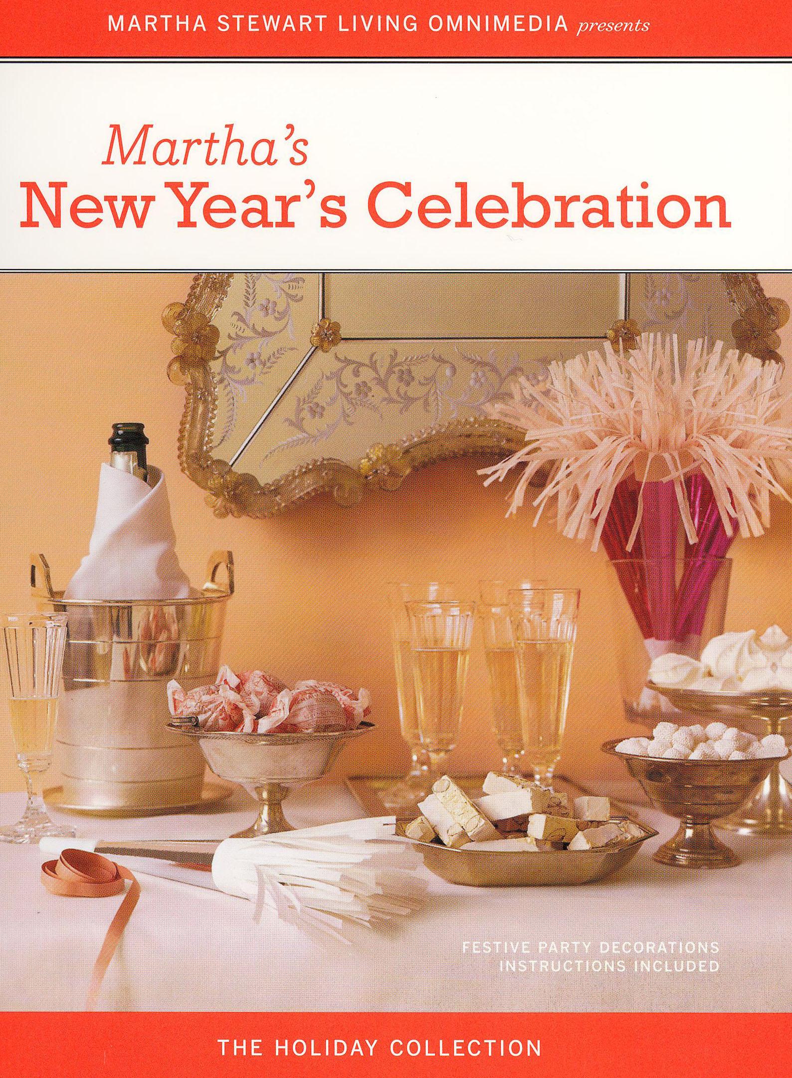 Martha Stewart: Martha's New Year's Celebration