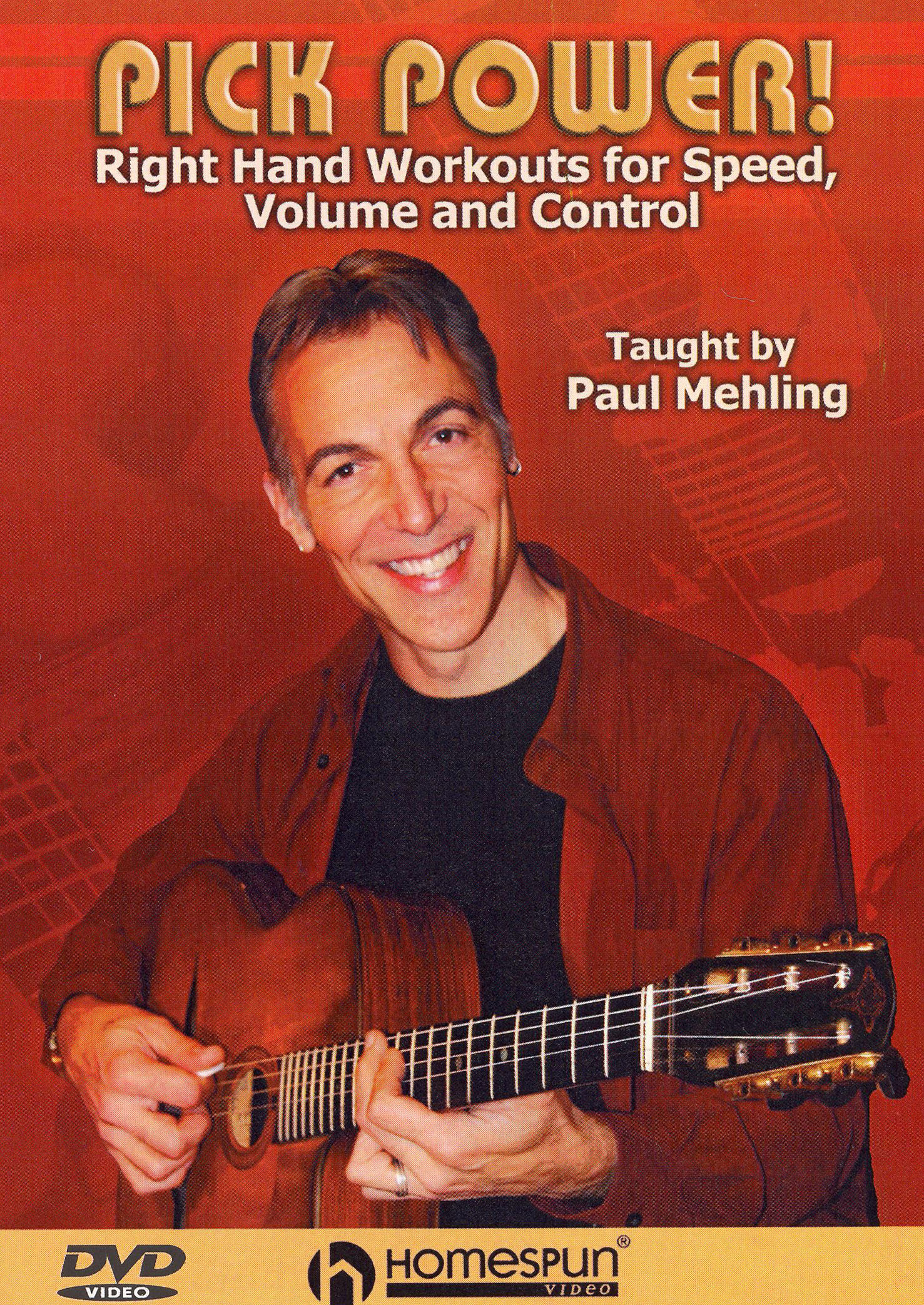 Paul Mehling: Pick Power - Right Hand Workouts for Speed, Volume and Control
