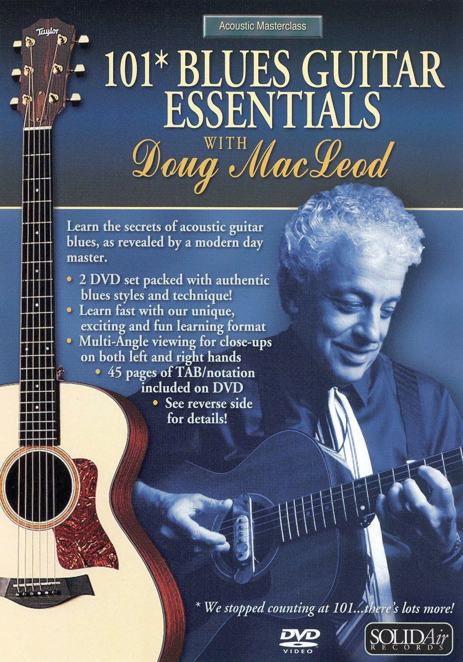 Doug MacLeod: 101 Blues Guitar Essentials