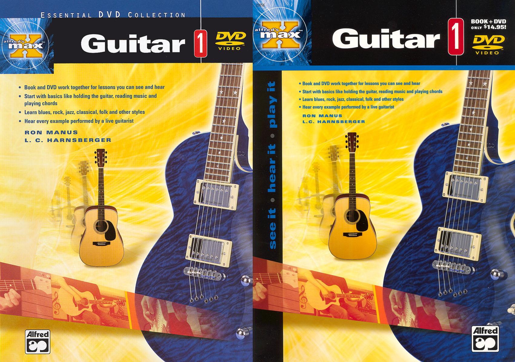 Alfred's Max Guitar, Vol. 1