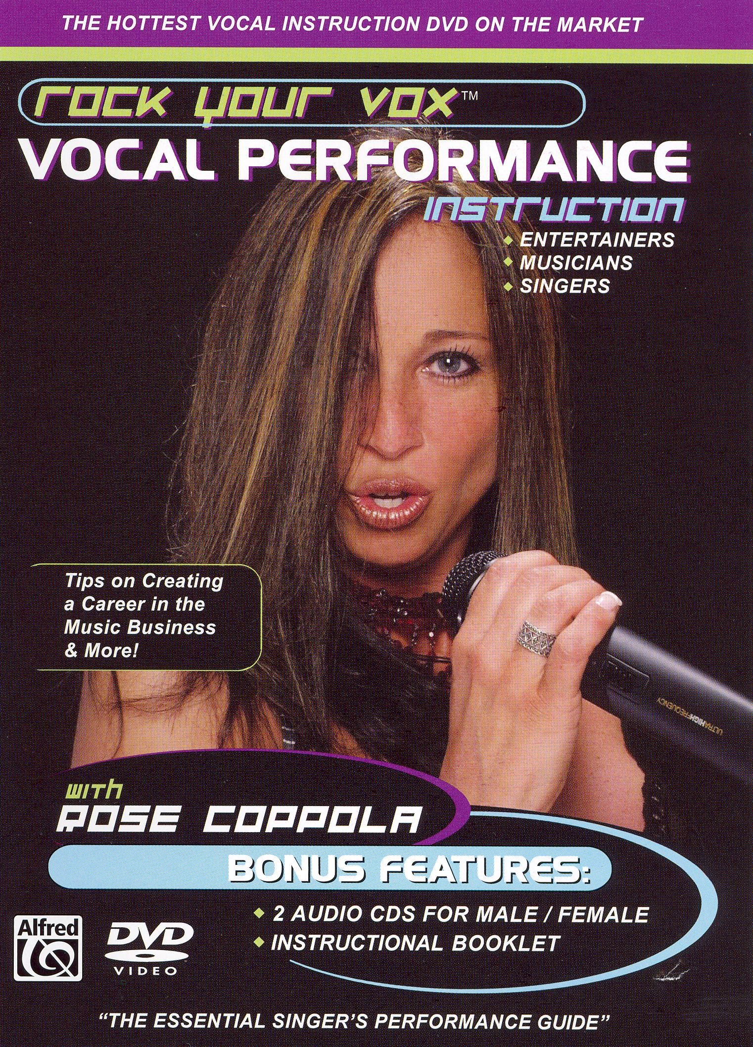Rock Your Vox: Vocal Performance