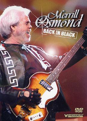 Merrill Osmond: Back in Black