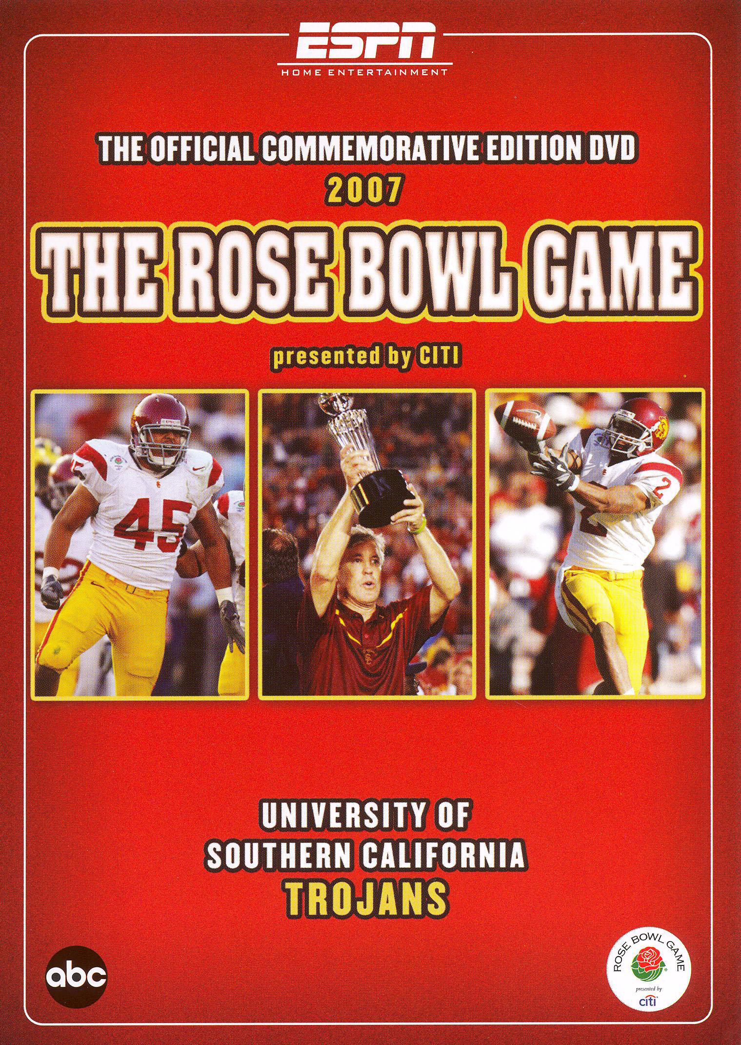 The 2007 Rose Bowl Game Presented by Citi: University of Southern California Trojans (2007)