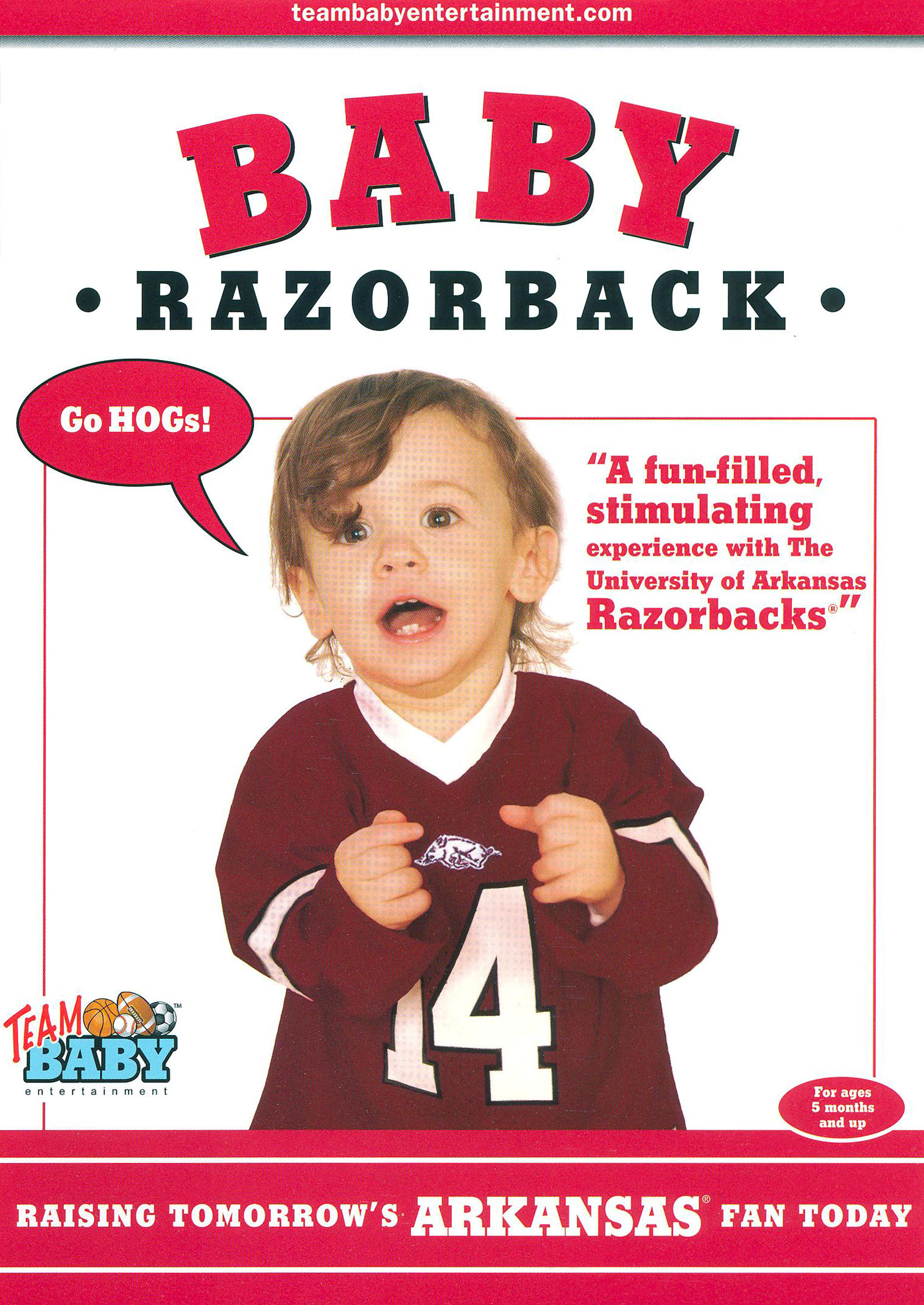 Team Baby: Baby Razorback