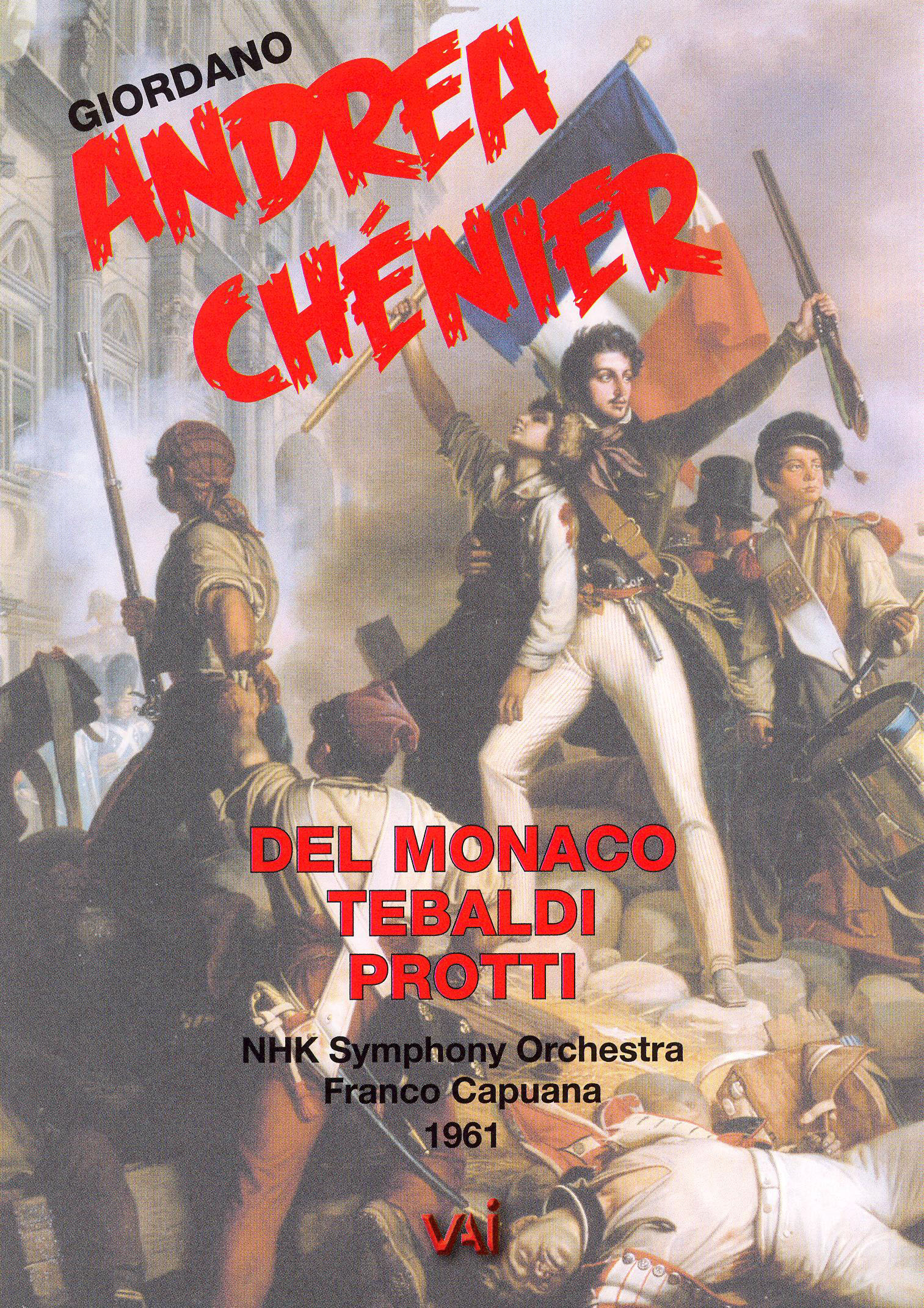 Andrea Chénier (NHK Symphony Orchestra)