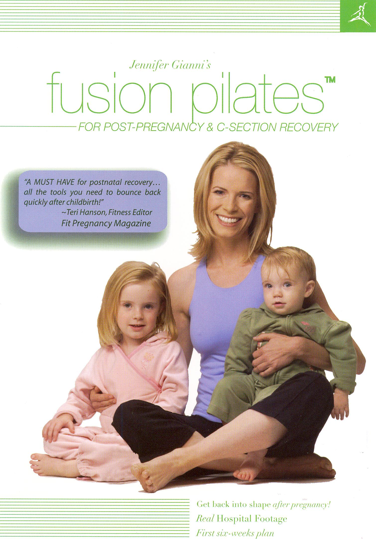 Jennifer Gianni's Fusion Pilates for Post-Pregnancy & C-Section Recovery
