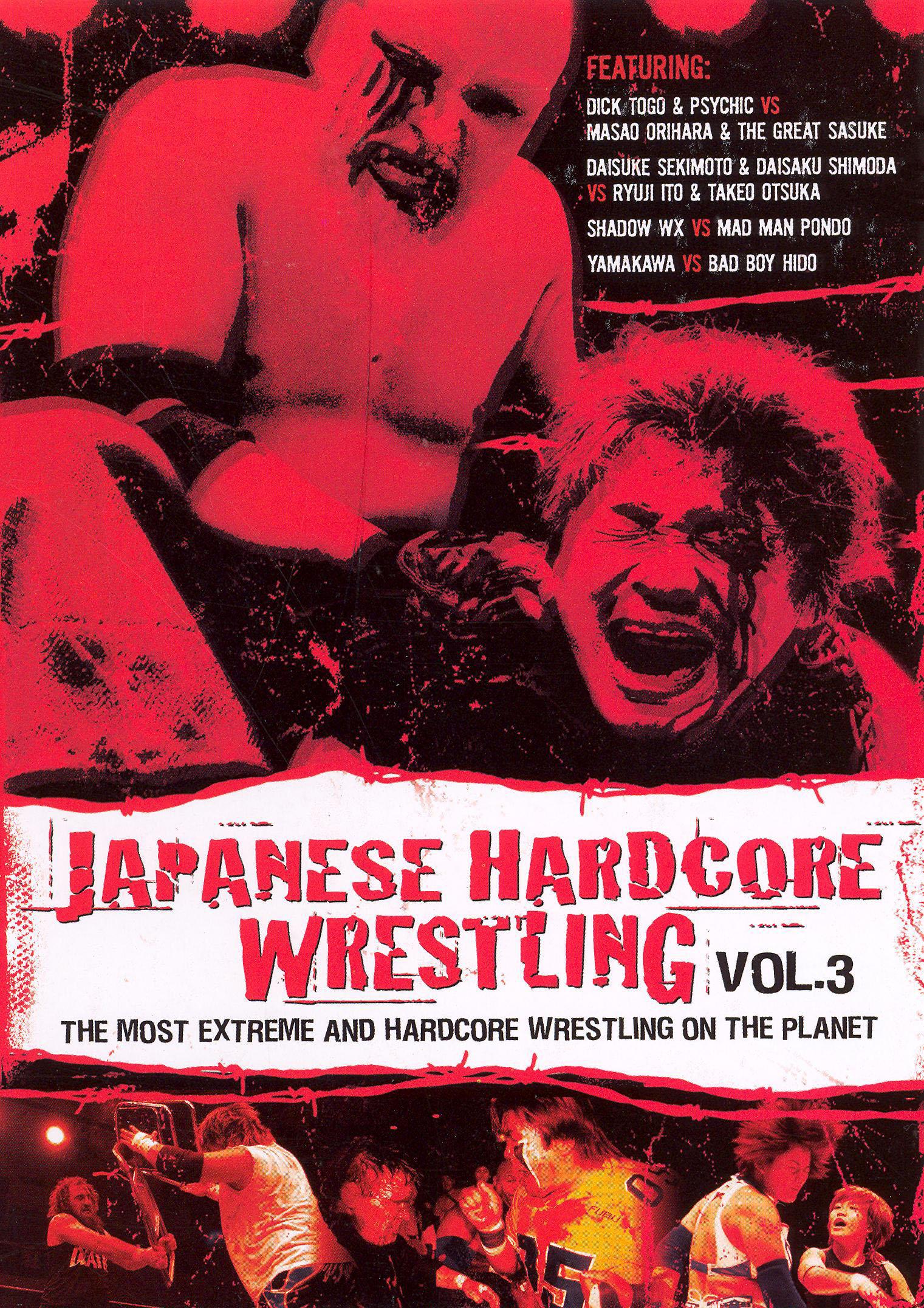 Japanese Hardcore Wrestling, Vol. 3