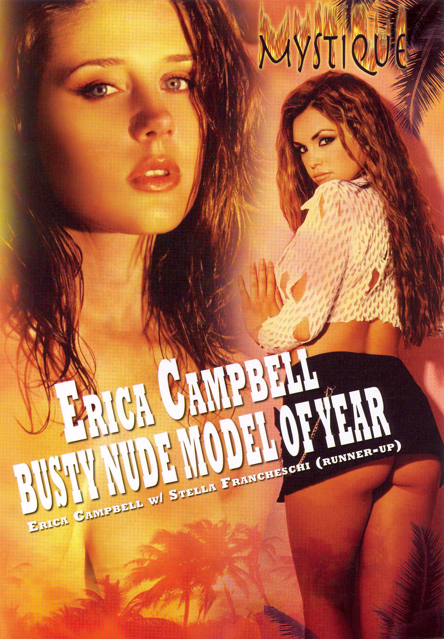Erica Campbell Busty Nude Model Of The Year 104