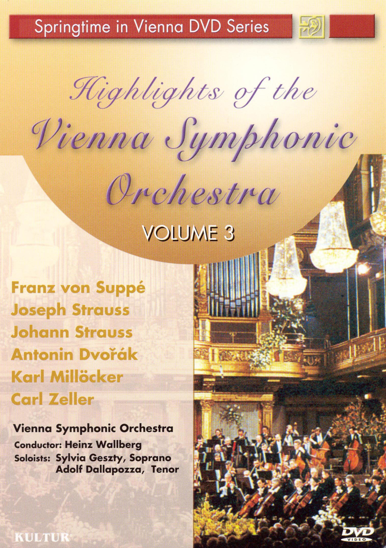 Highlights of Vienna Symphonies, Vol. 3