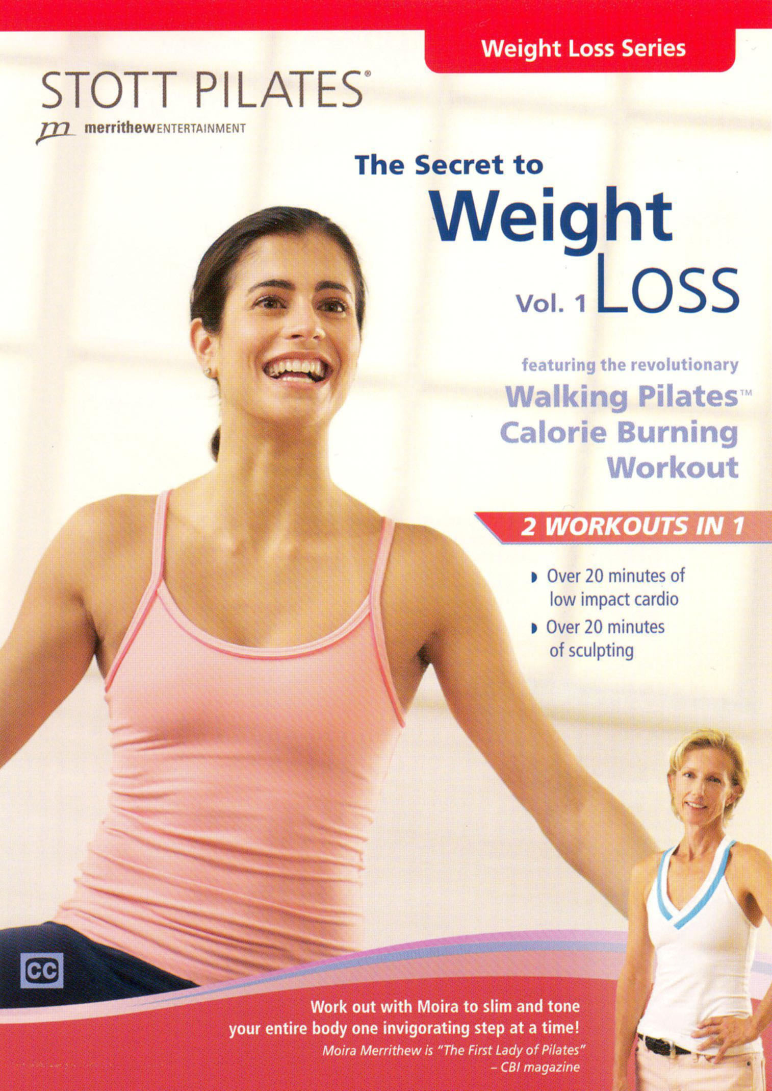 Stott Pilates: The Secret to Weight Loss, Vol. 1
