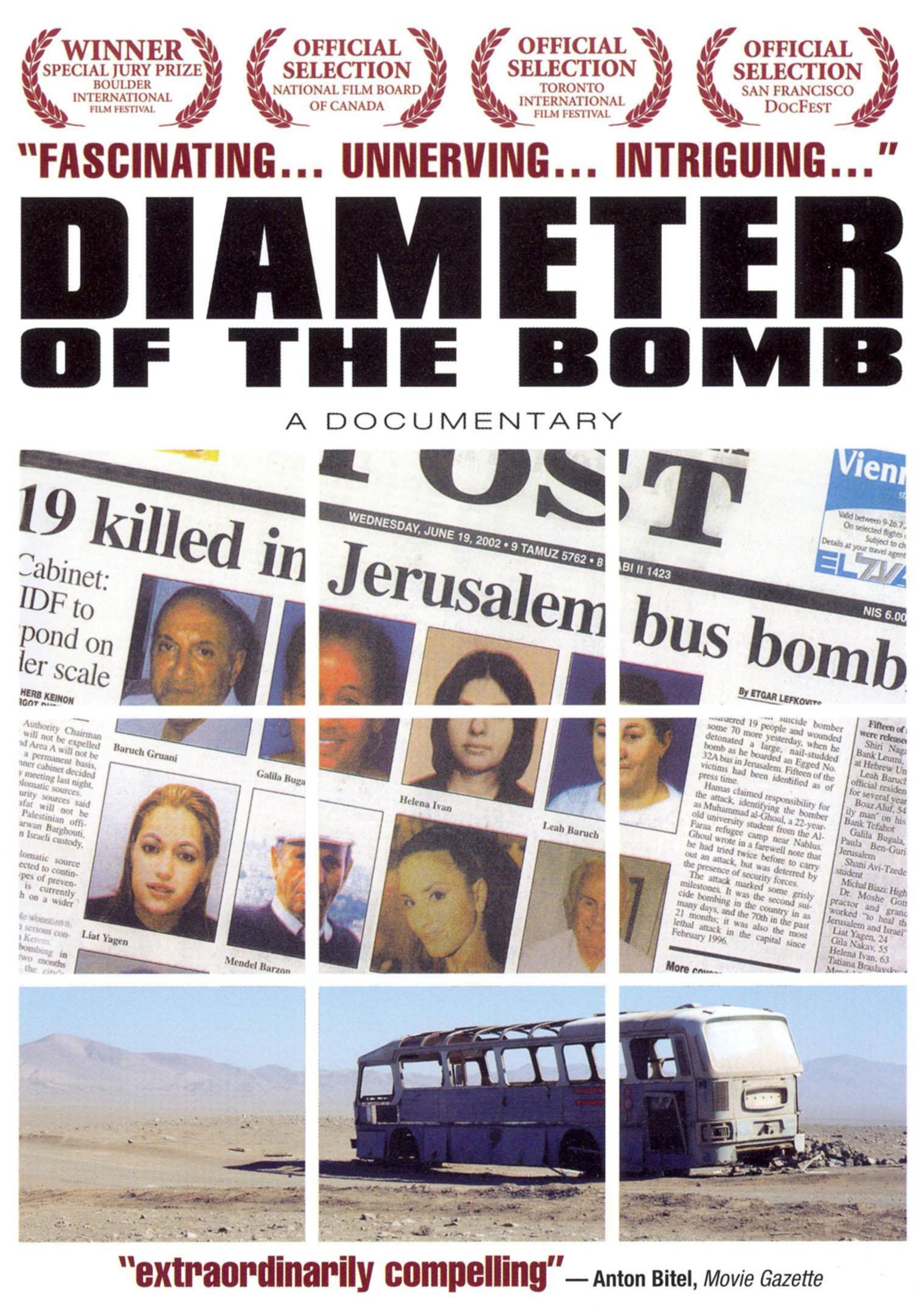 Diameter of the Bomb