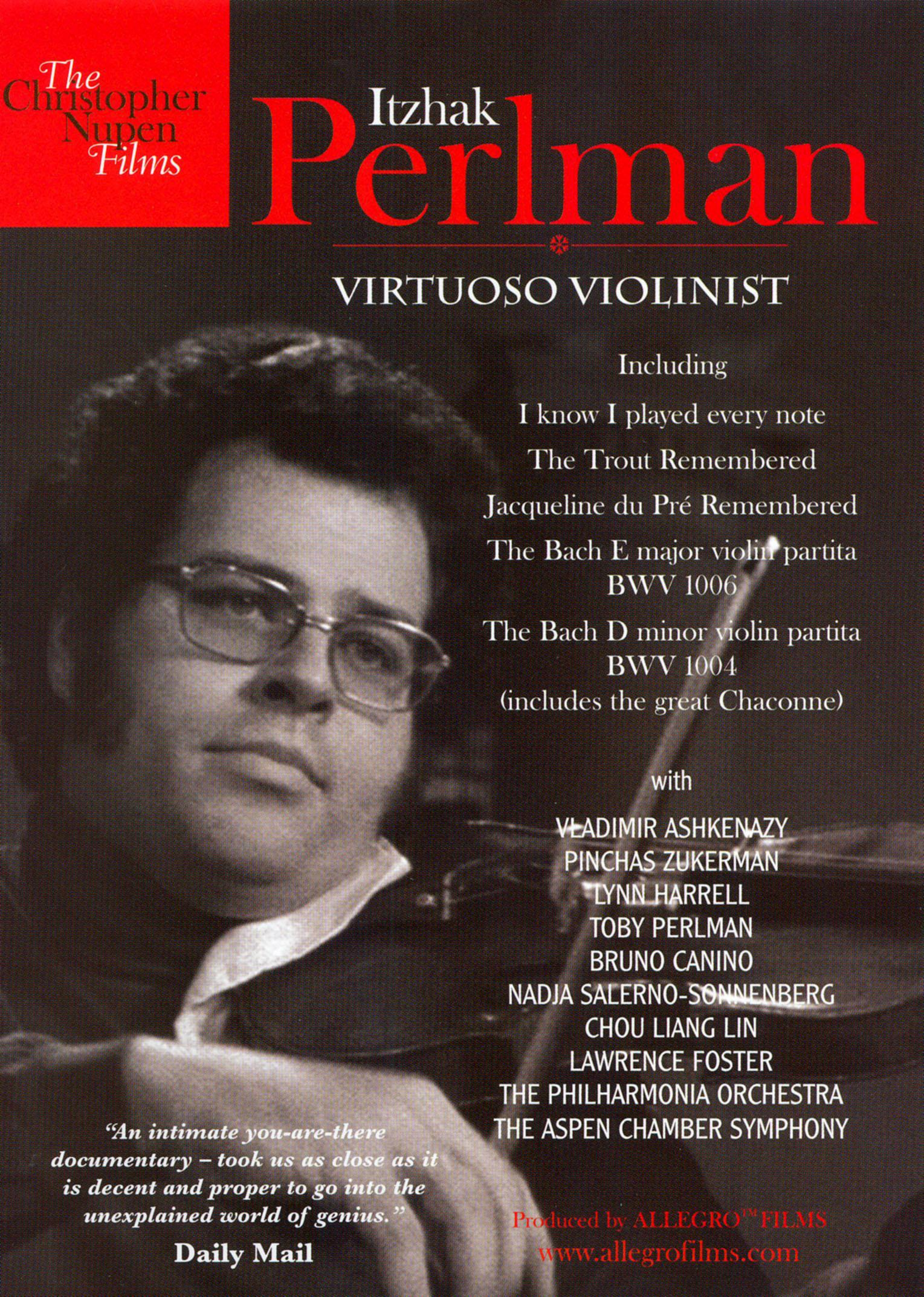 Itzhak Perlman: Virtuoso Violinist