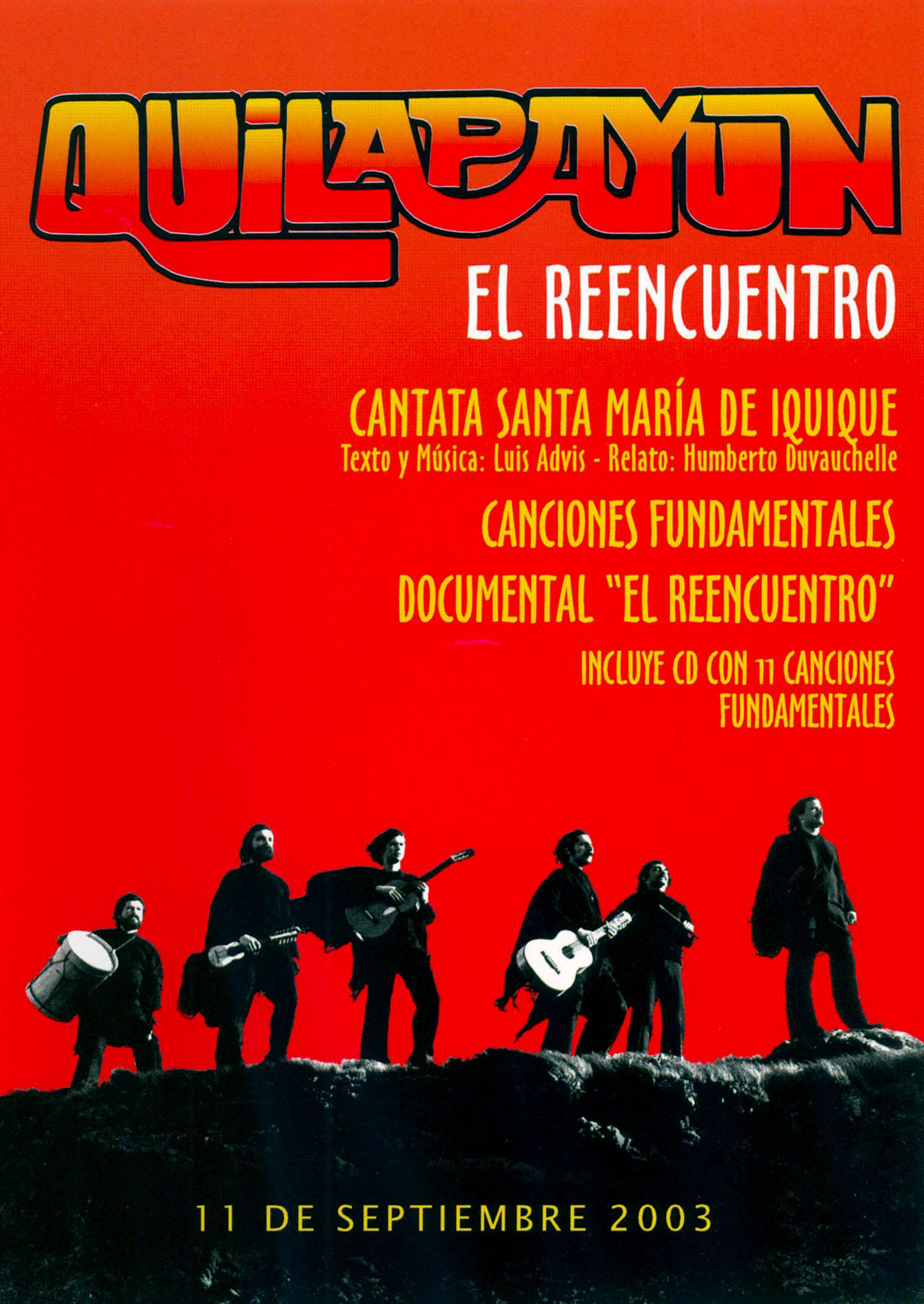 Quilapayun: El Reencuentro