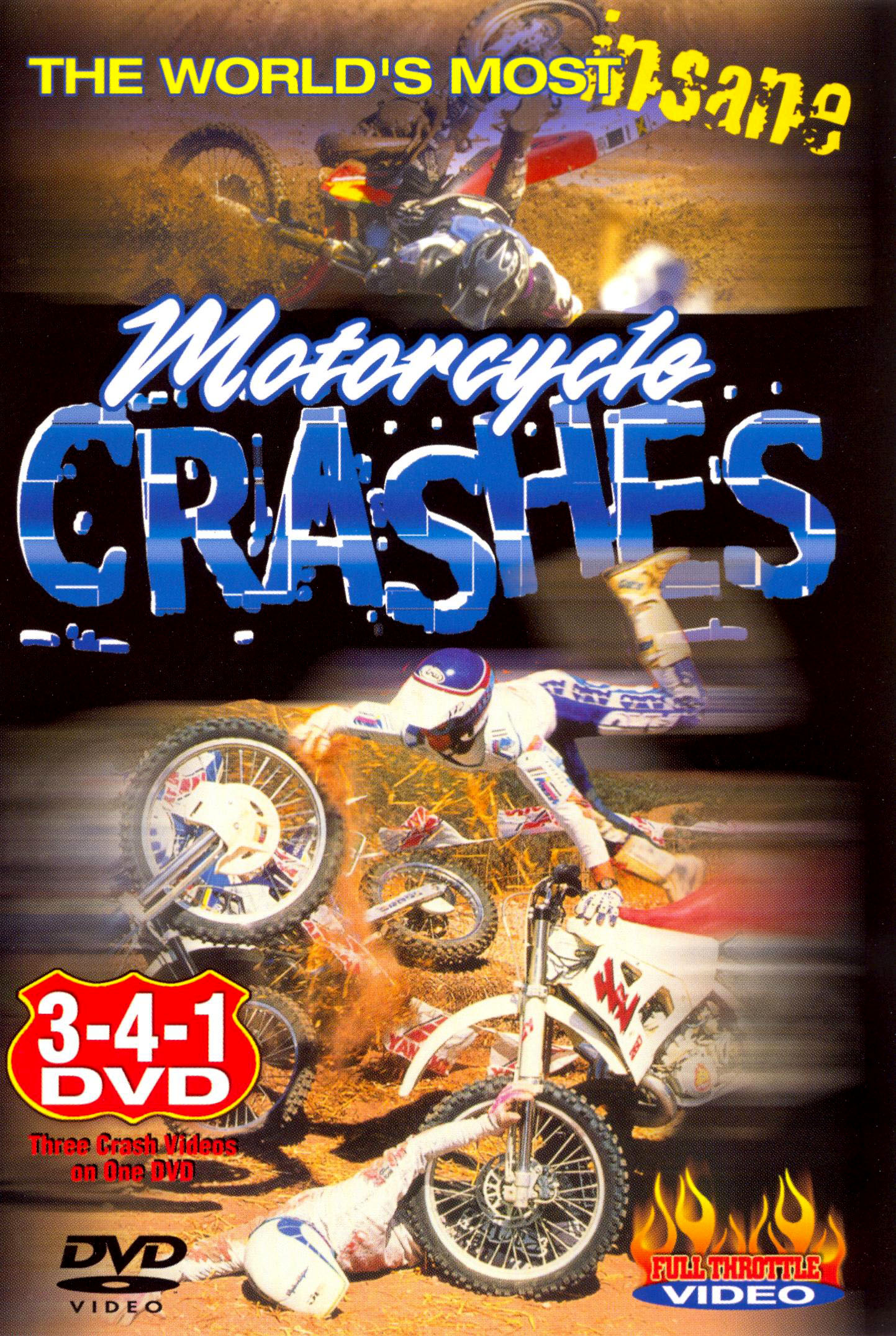 The World's Most Insane Motorcycle Crashes