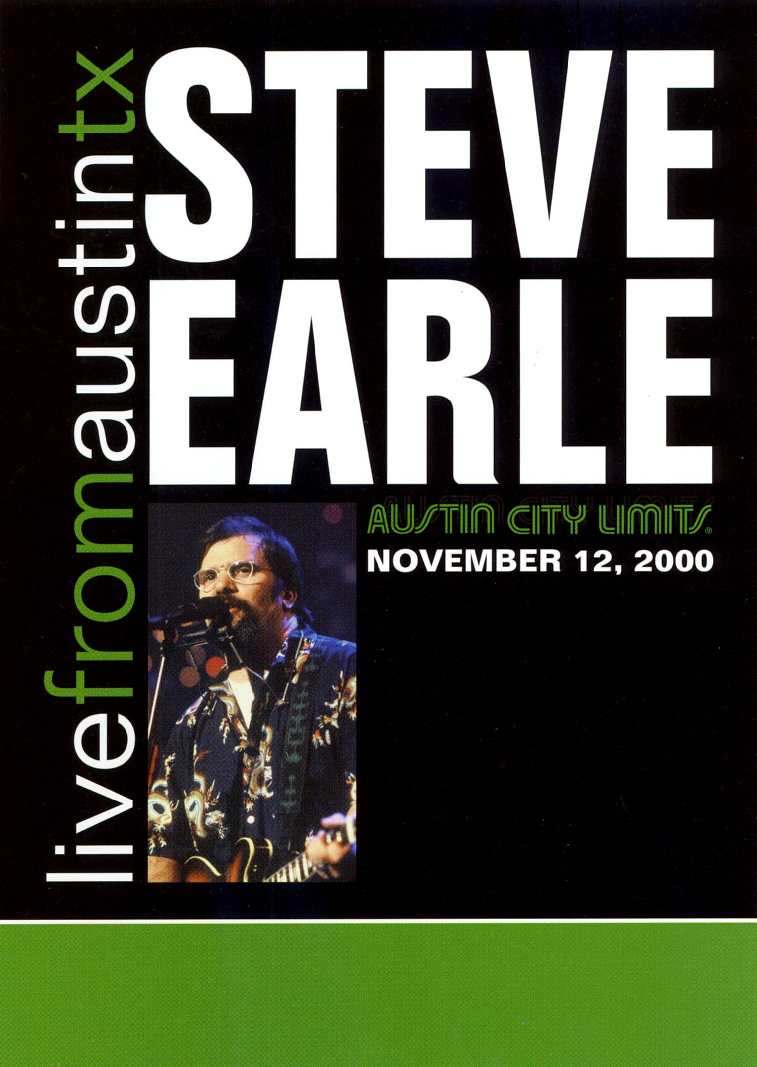 Live From Austin TX: Steve Earle