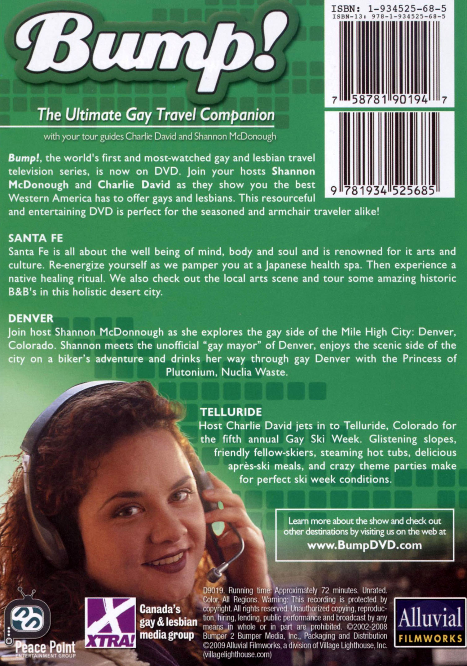Bump! The Ultimate Gay Travel Companion: Western America (2008)