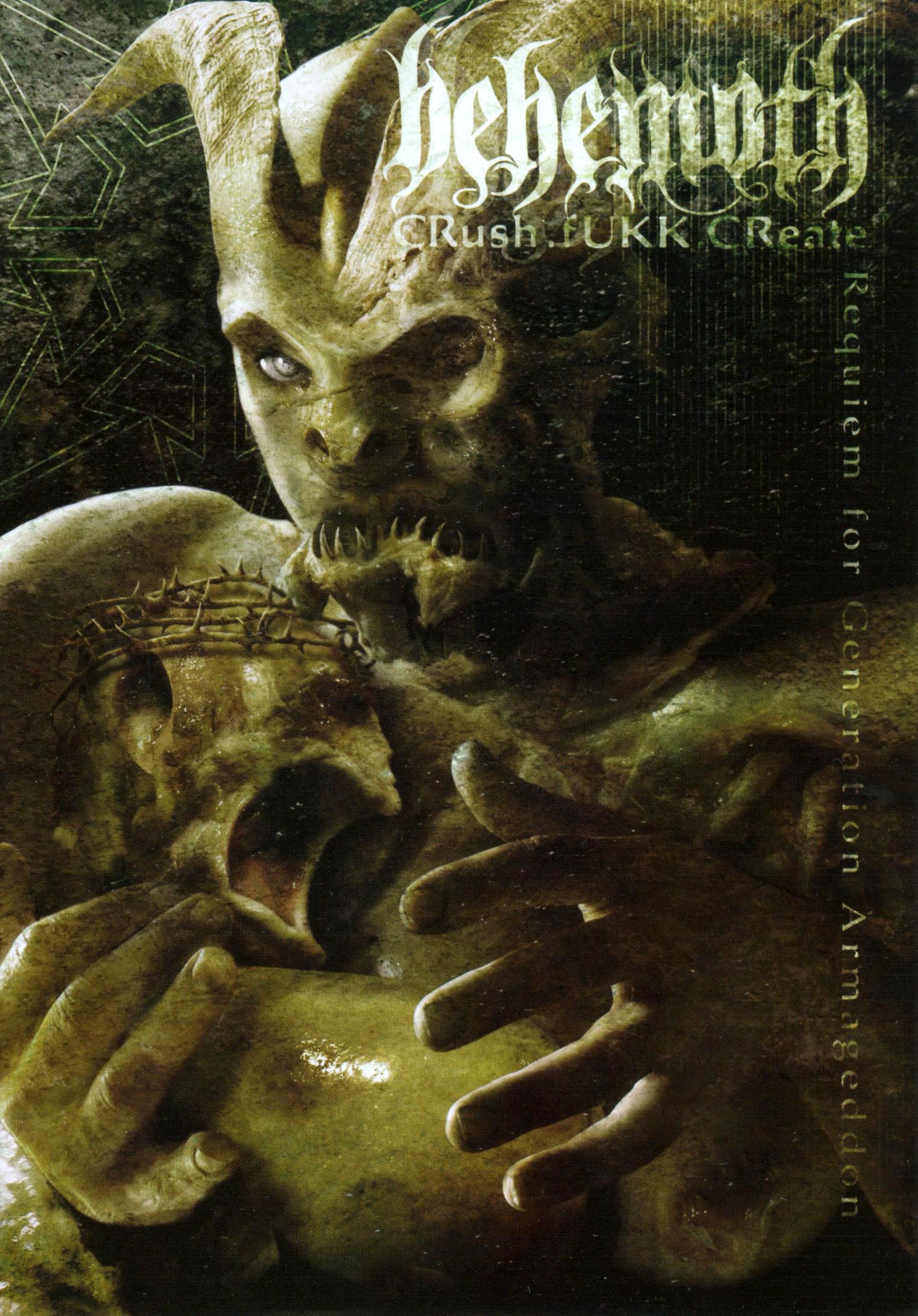 Behemoth: Crush, Fukk, Create
