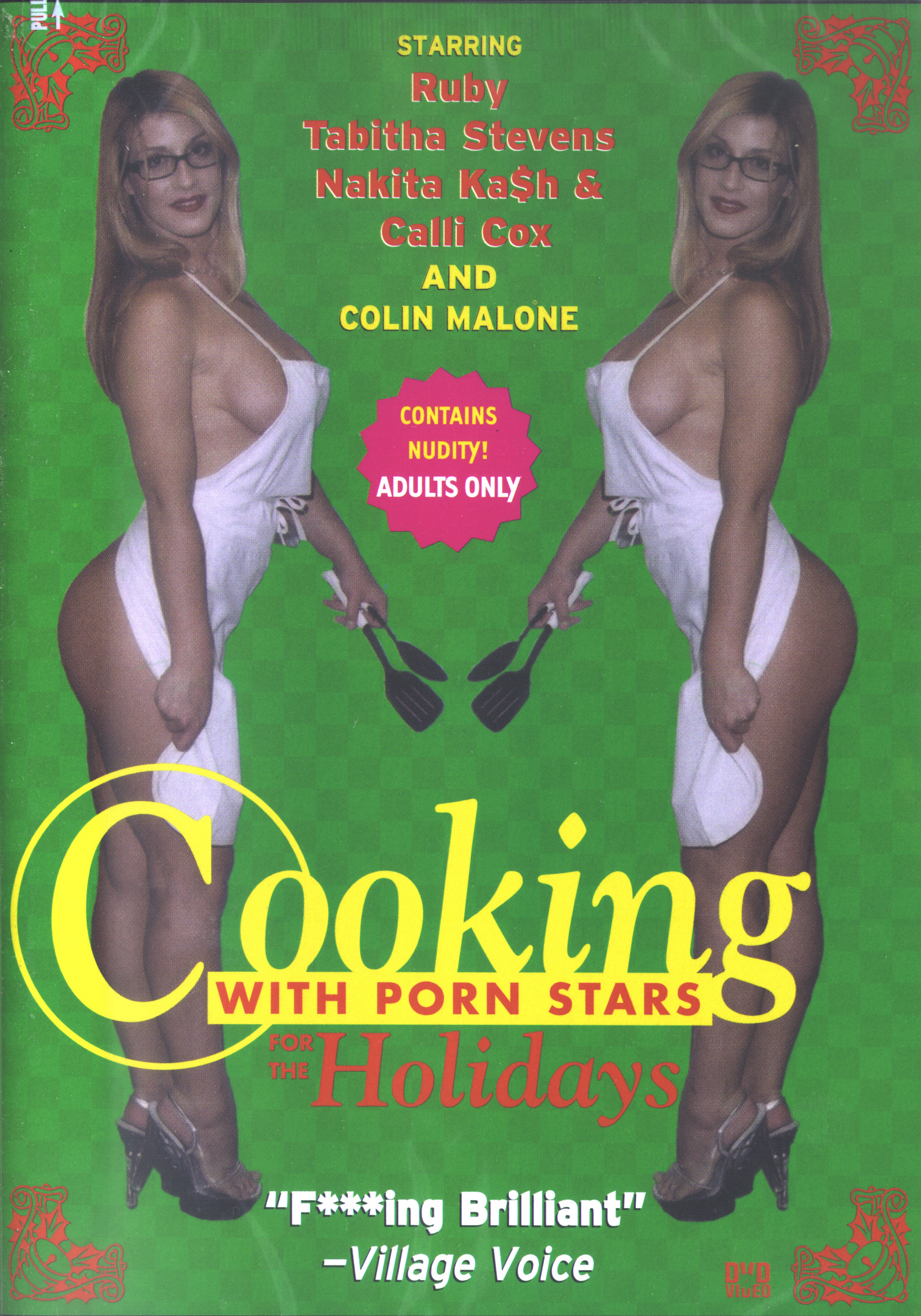Cooking With Porn Stars for the Holidays