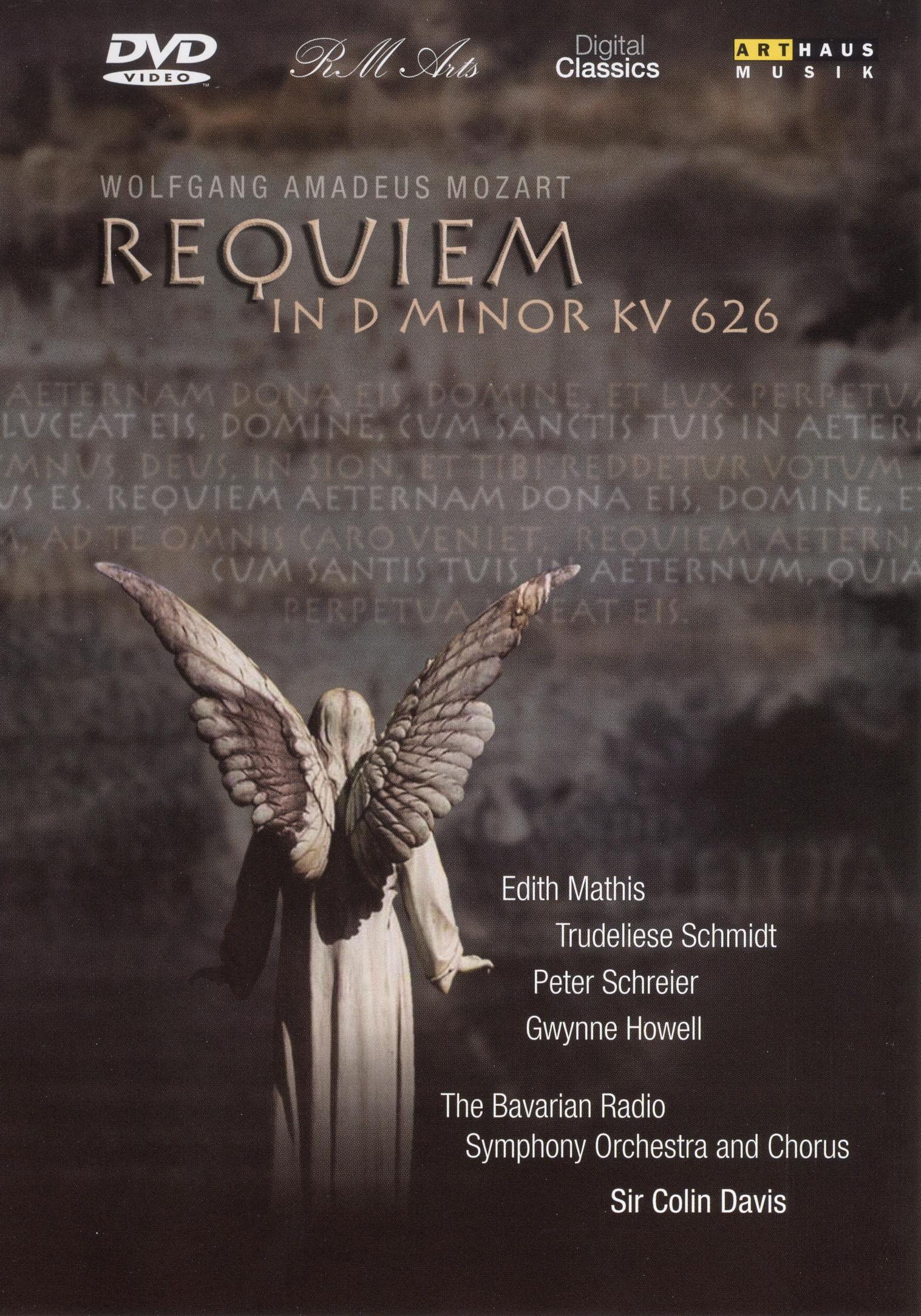 The Bavarian Radio Symphony Orchestra and Chorus/Sir Colin Davis: Mozart - Requiem