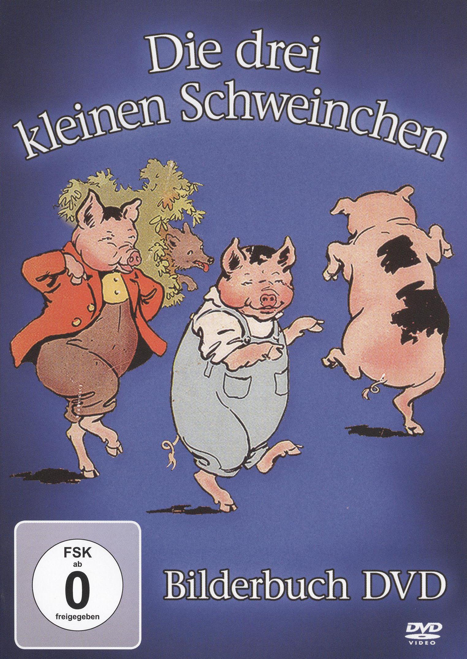 Die Drei Kleinen Schweinchen: Bilderbuch DVD