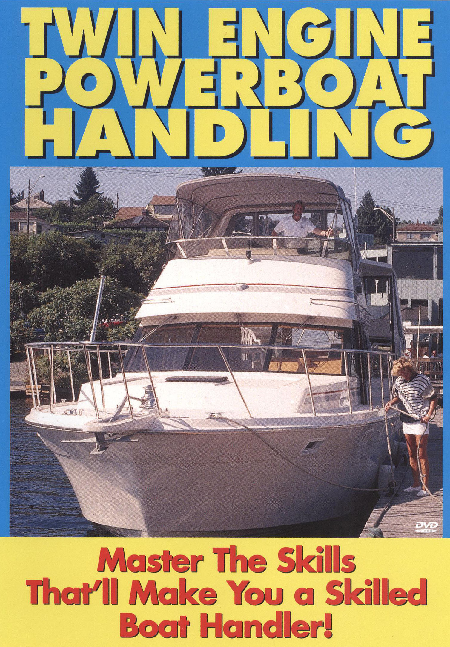 Twin Engine Power Boat Handling