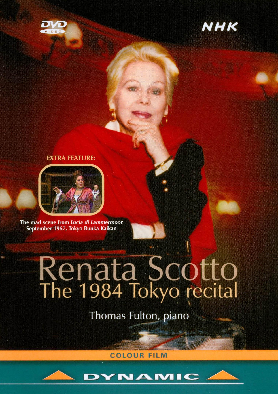 Renata Scotto: Prima Donna in Recital - NHK Concert Hall, Tokyo