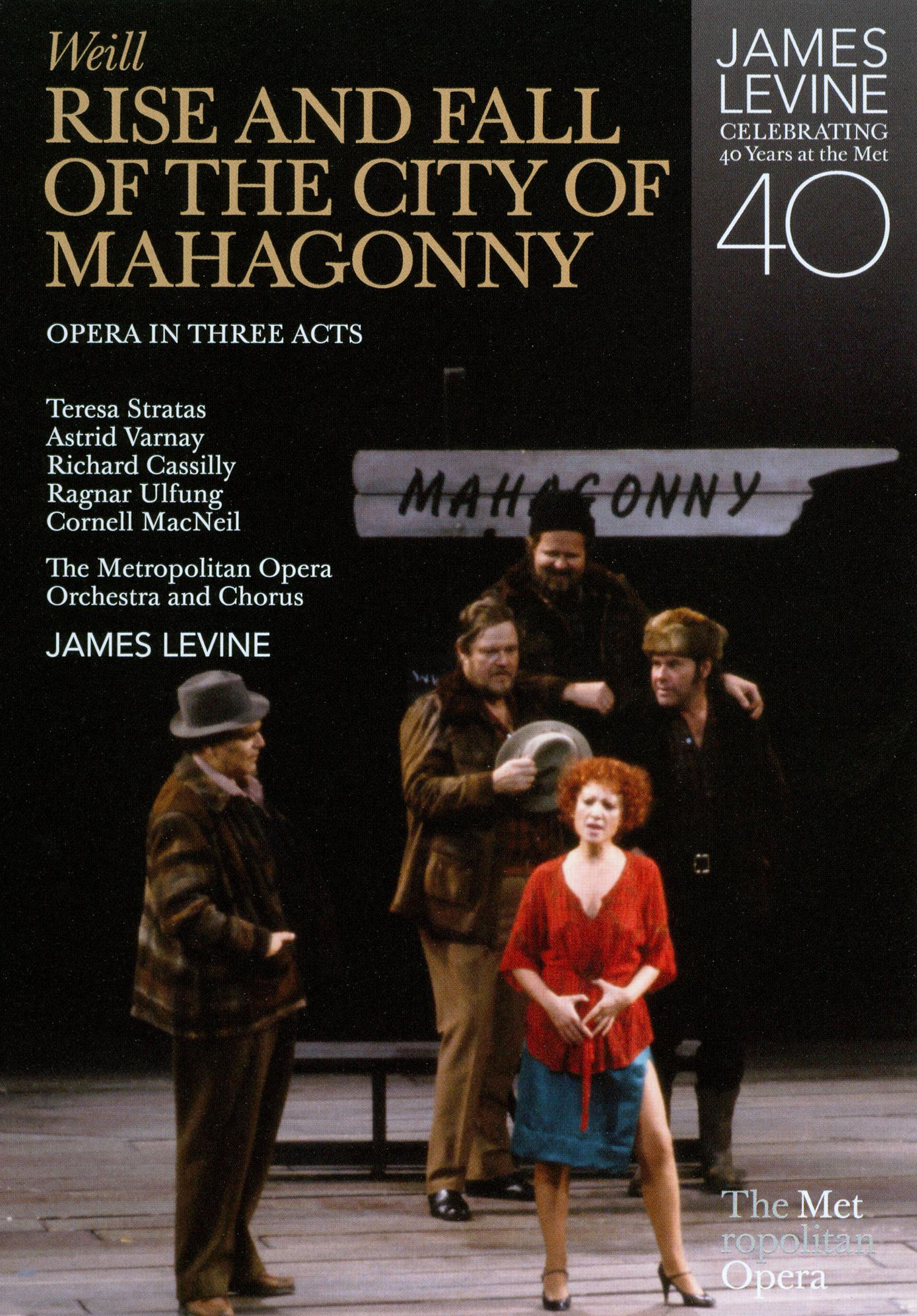 The Rise and Fall of the City of Mahagonny (The Metropolitan Opera)