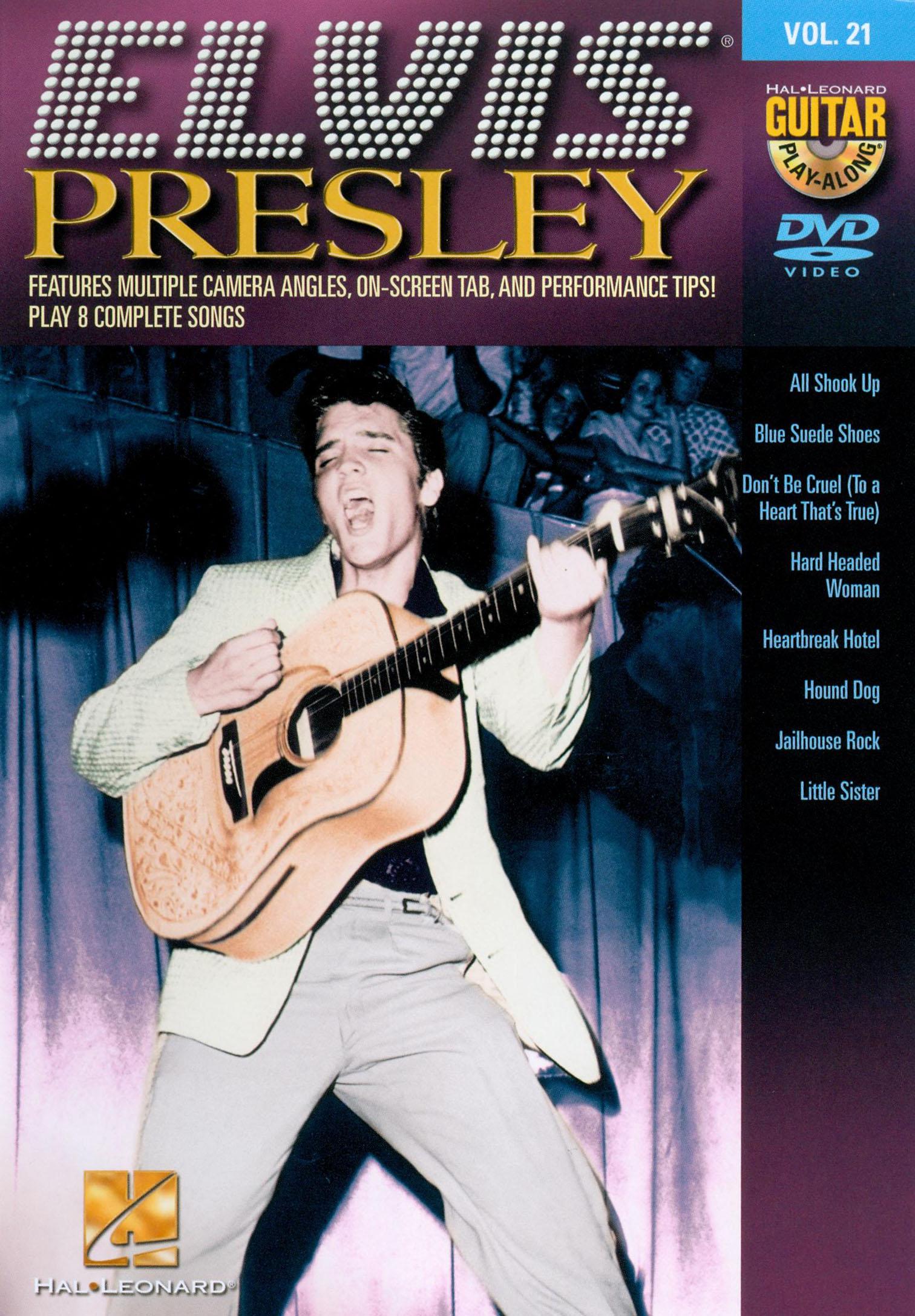 Guitar Play-Along, Vol. 21: Elvis Presley