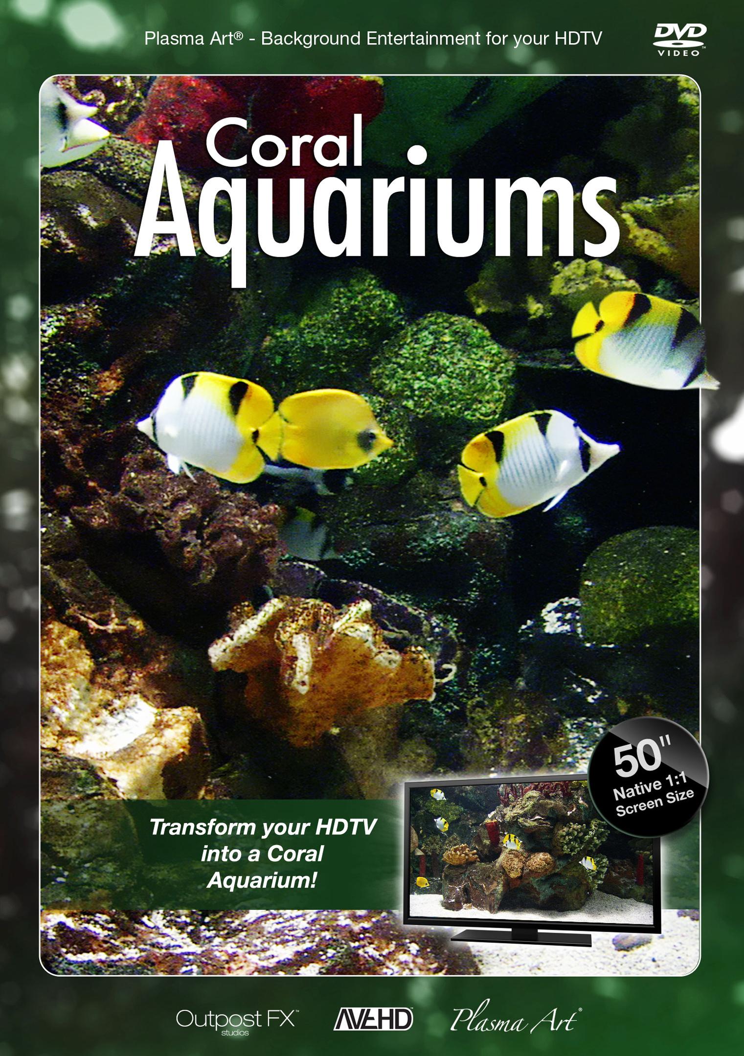 Plasma Art: Coral Aquariums (2008)