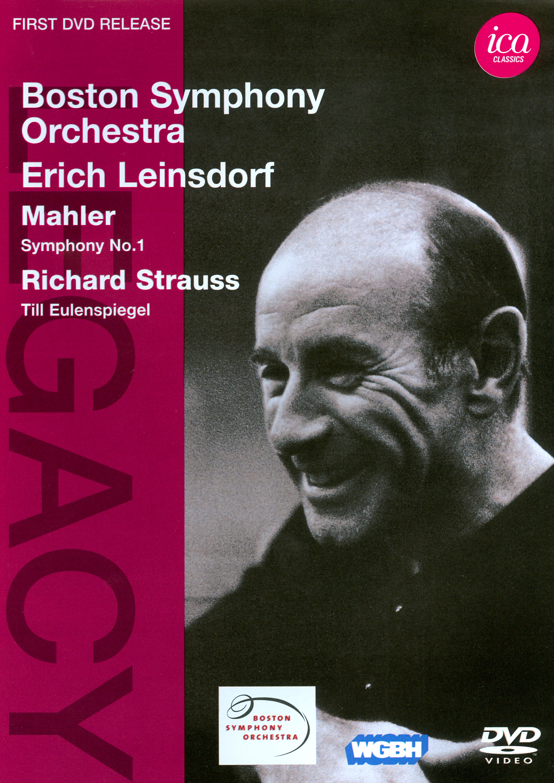 Boston Symphony Orchestra/Erich Leinsdorf: Mahler/Richard Strauss