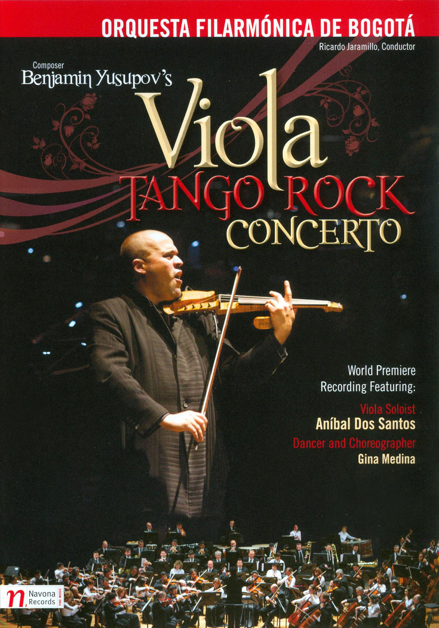 Orquesta Filarmónica de Bogotá: Benjamin Yusupov's Viola Tango Rock Concerto