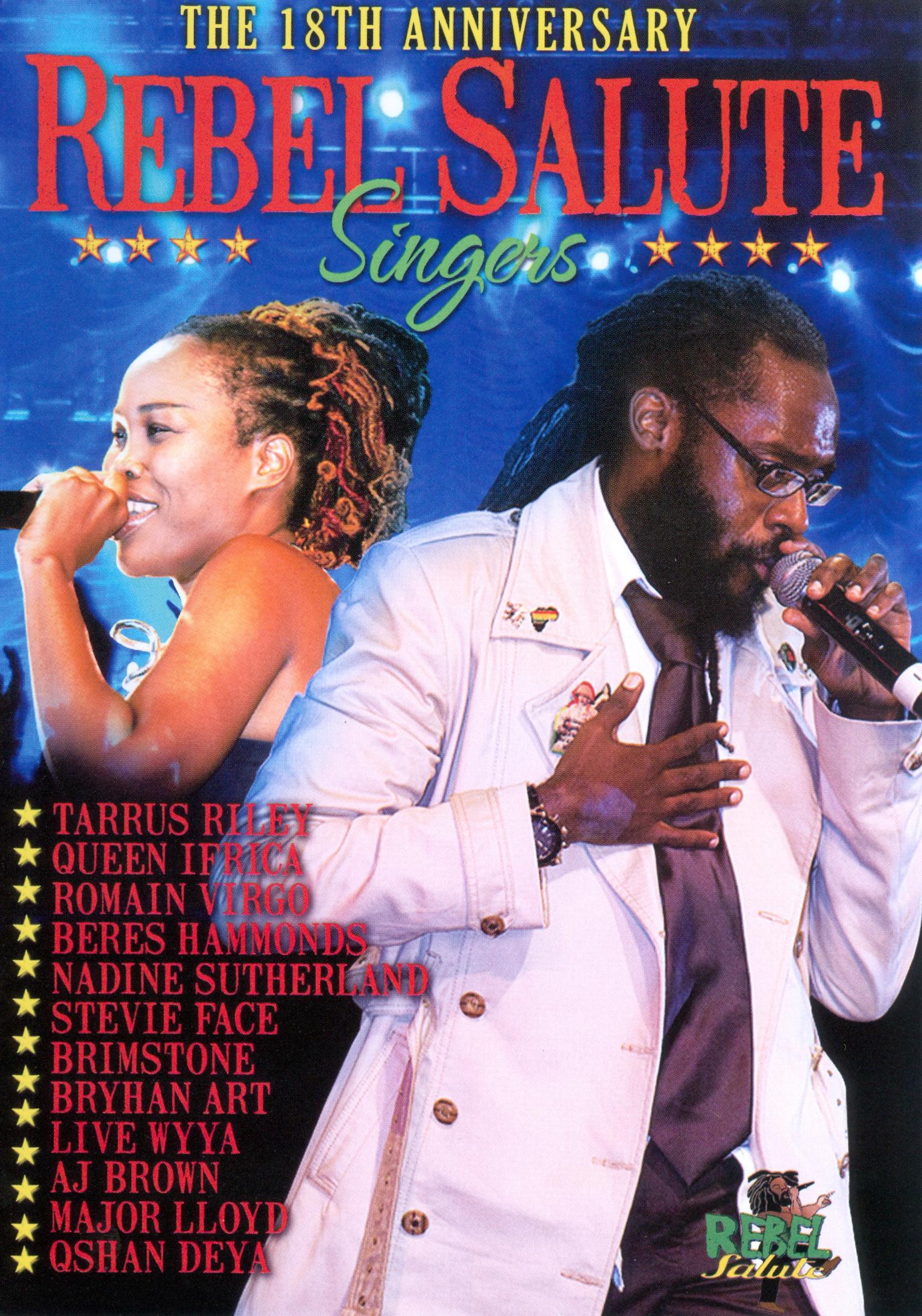 Rebel Salute 2011: Singers