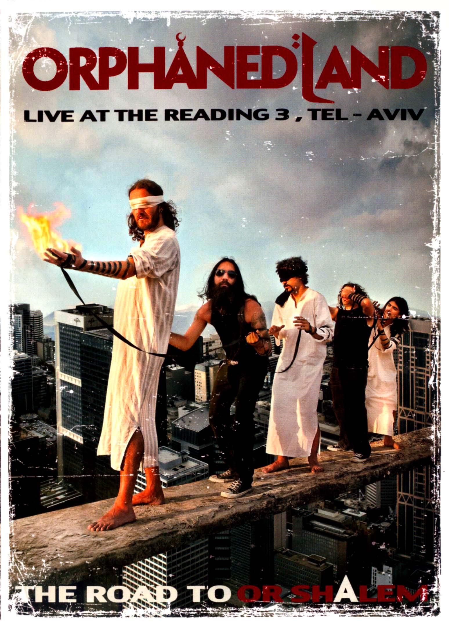 Orphaned Land: The Road to OR-Shalem - Live at the Reading 3, Tel-Aviv