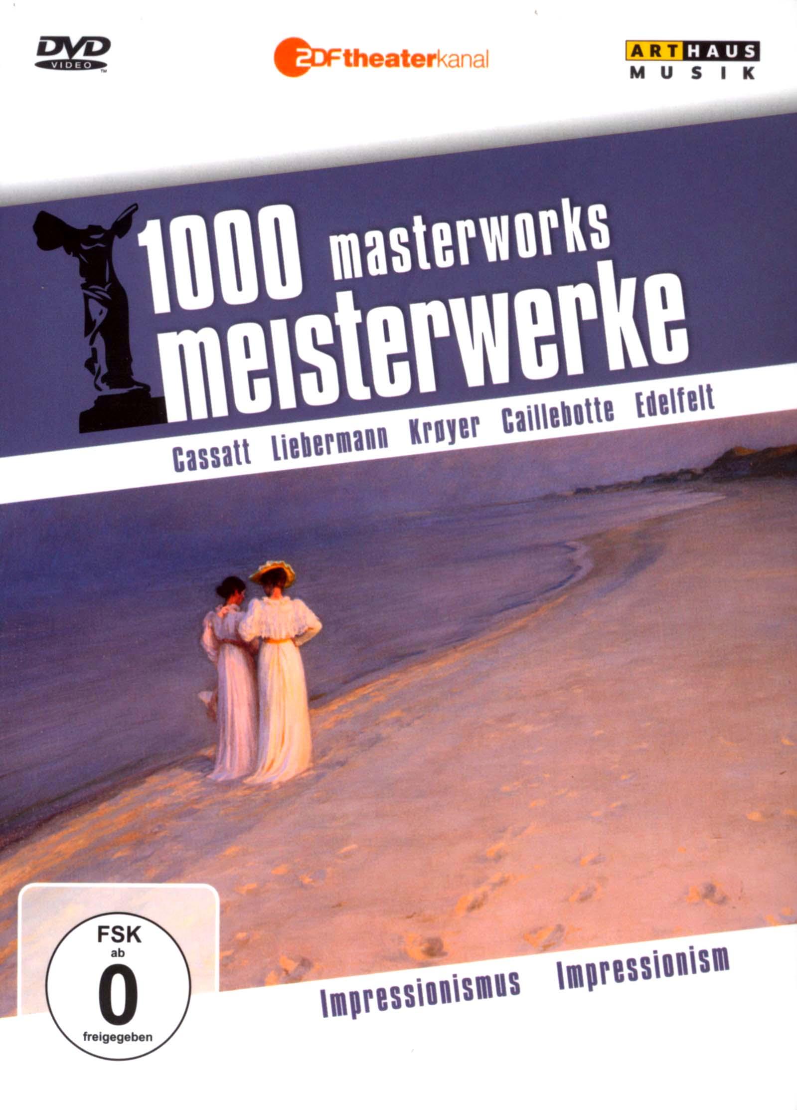 1000 Masterworks: Impressionism