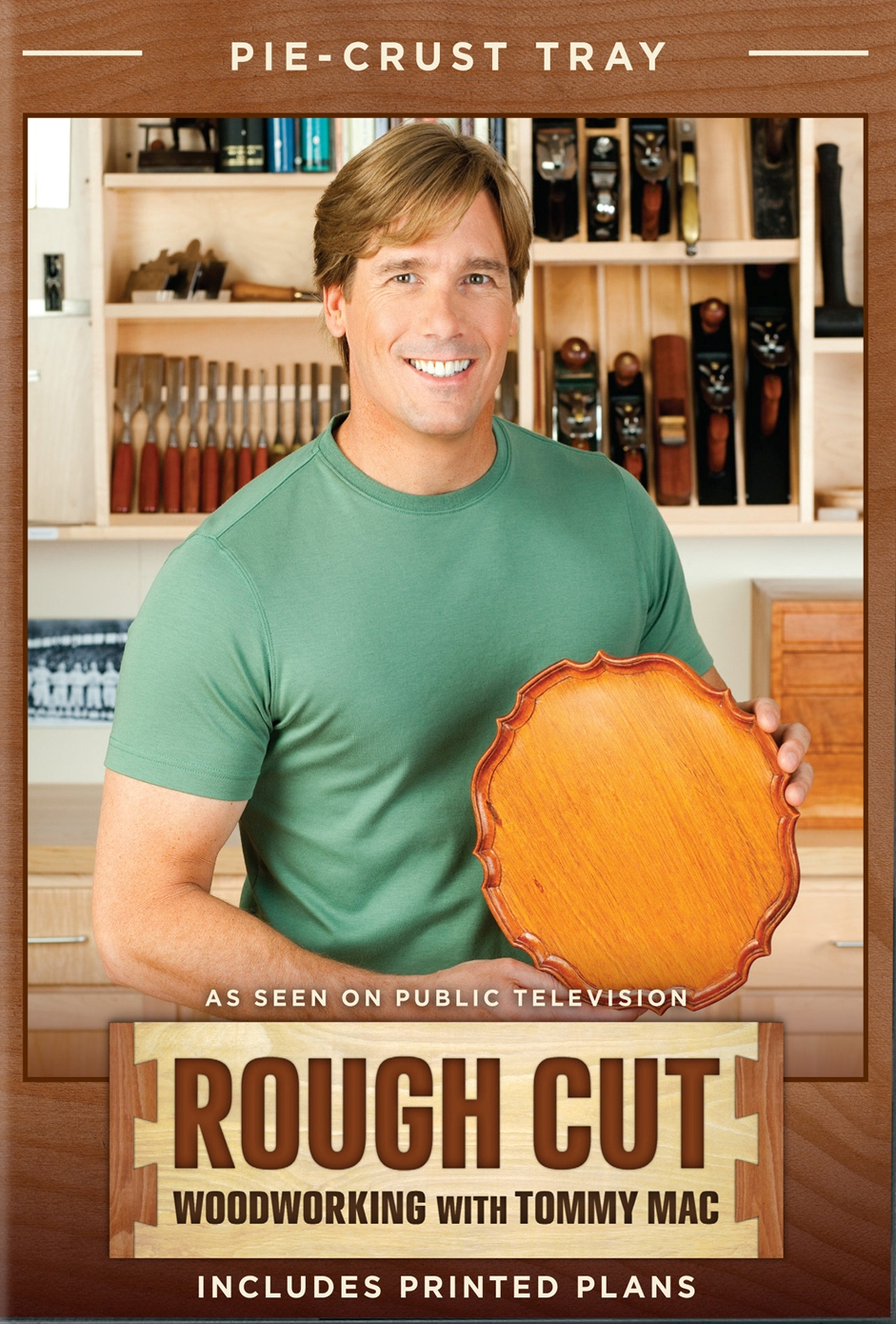 Rough Cut - Woodworking with Tommy Mac: Pie-Crust Tray