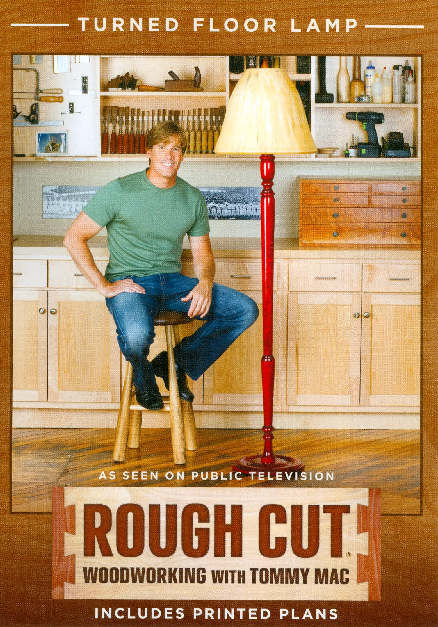 Rough Cut - Woodworking with Tommy Mac: Turned Floor Lamp