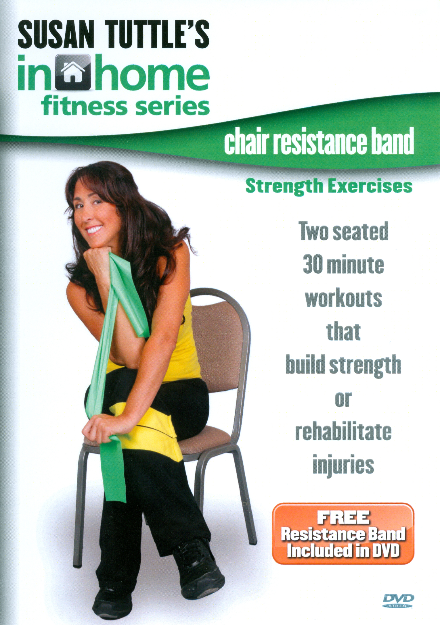Susan Tuttle's In Home Fitness: Chair Resistance Band Strength Exercises
