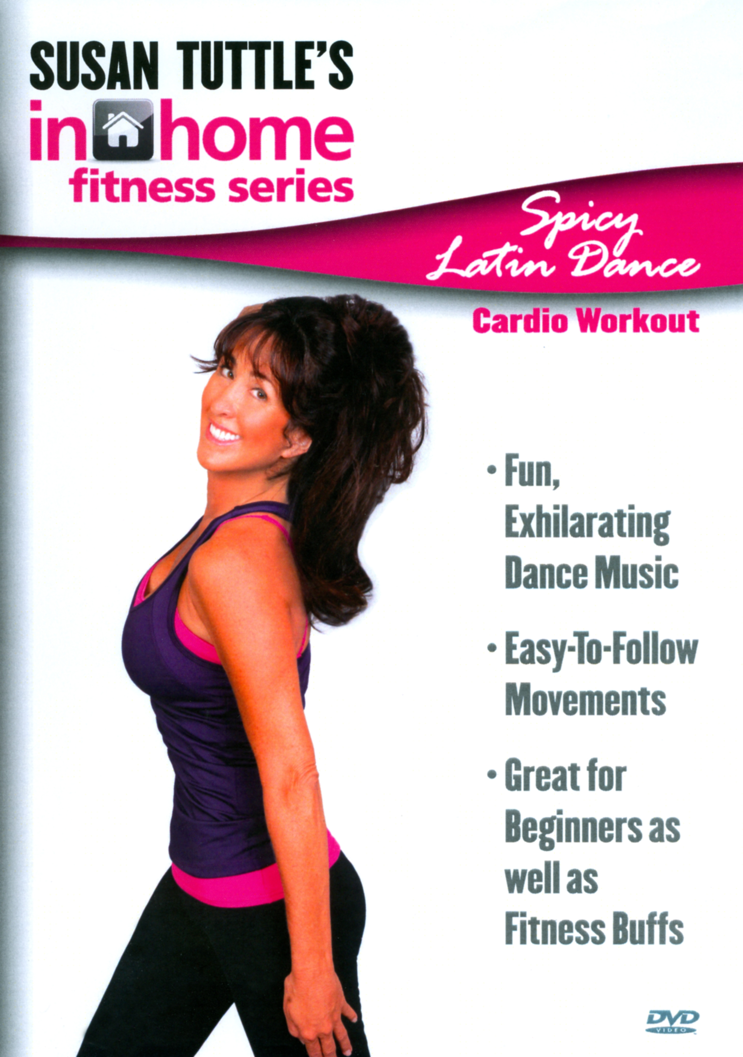 Susan Tuttle's In Home Fitness: Spicy Latin Dance Cardio Workout