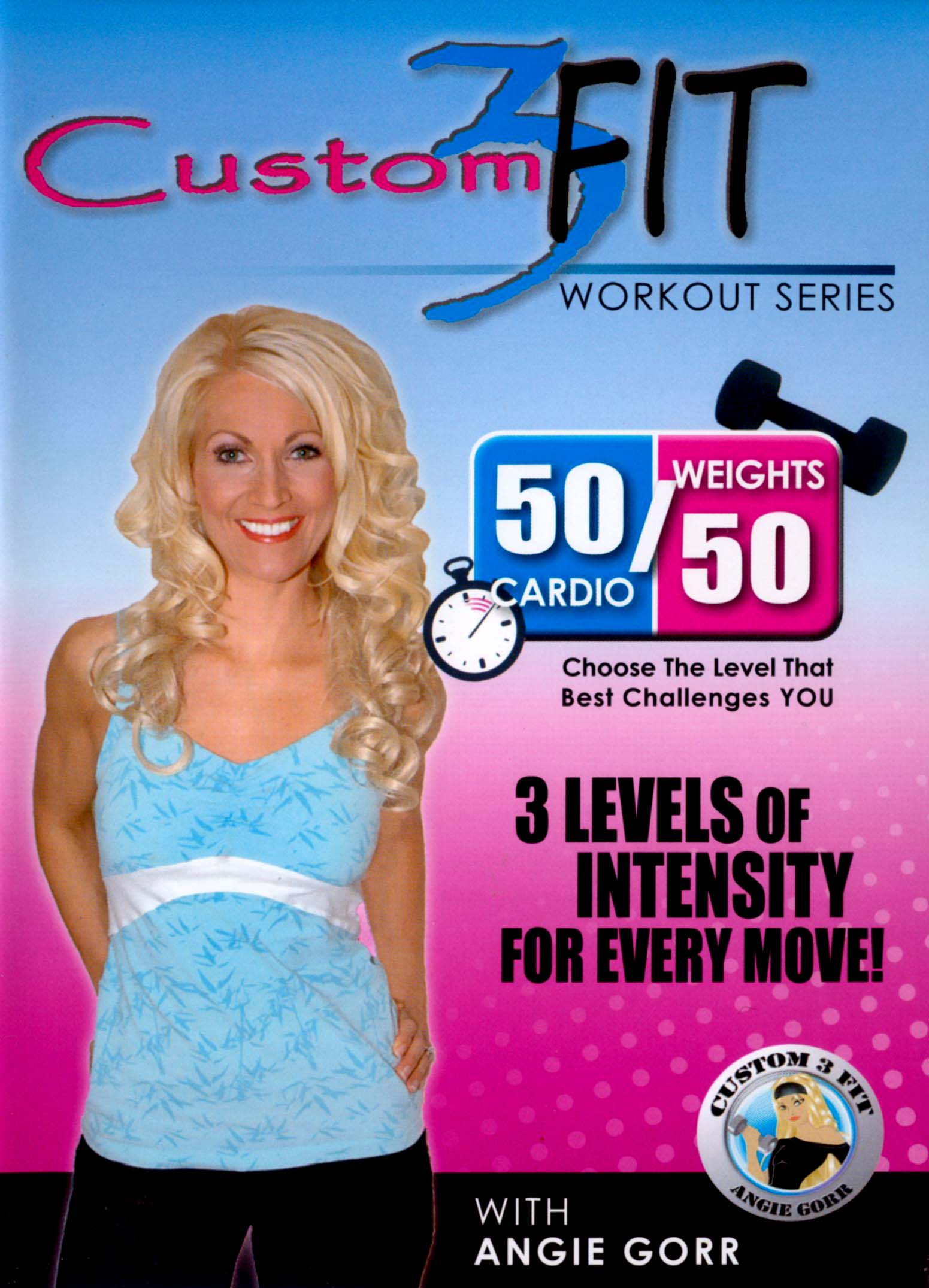 custom3 Fit: 50/50 Cardio and Weights
