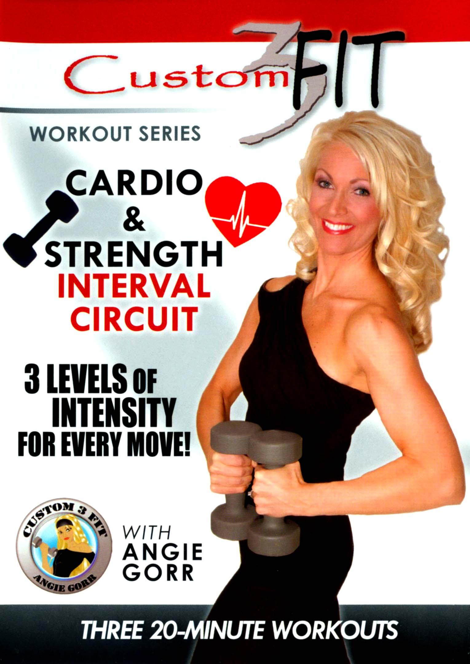 custom3 Fit: Cardio and Strength Interval Circuit