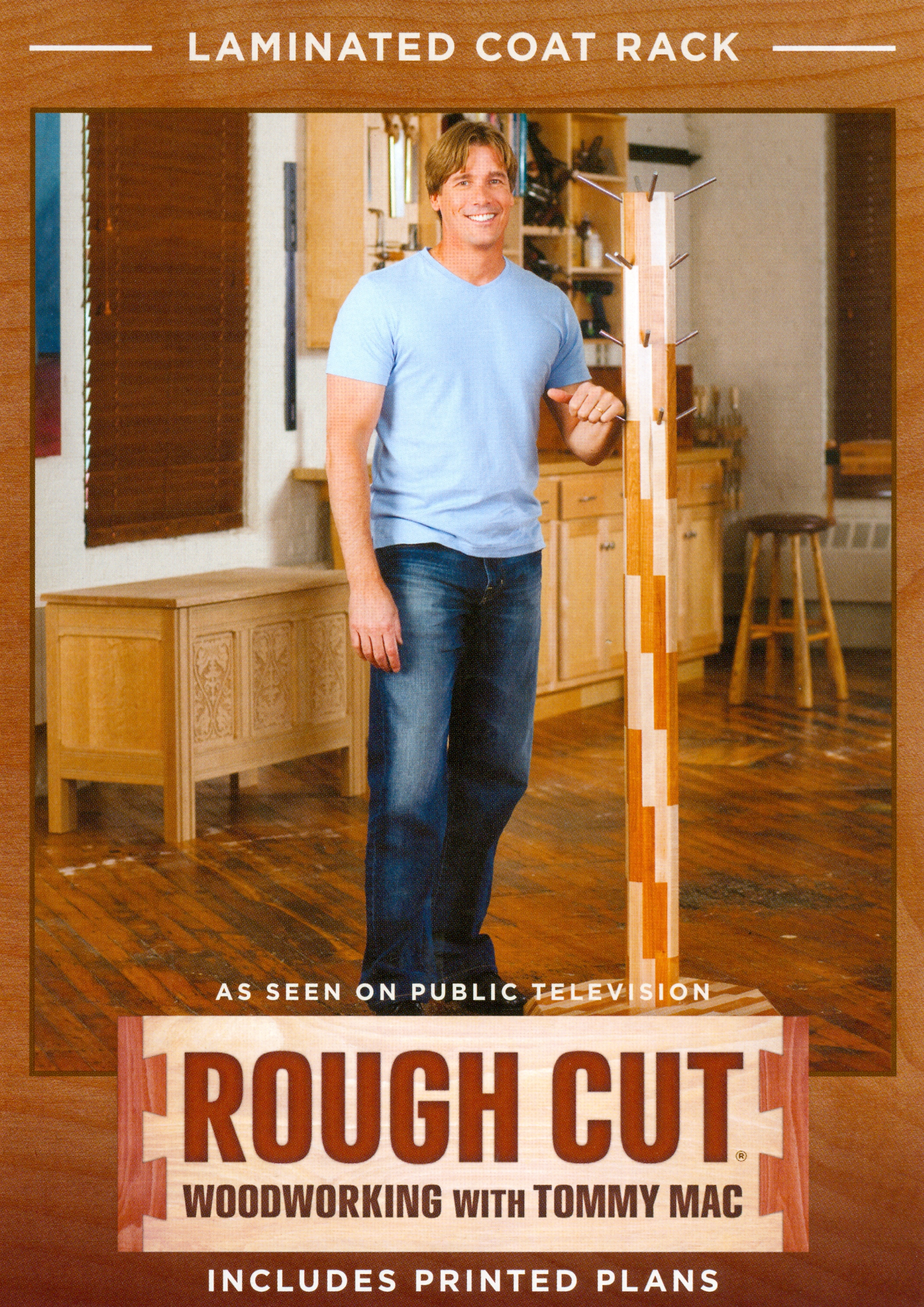 Rough Cut - Woodworking with Tommy Mac: Laminated Coat Rack