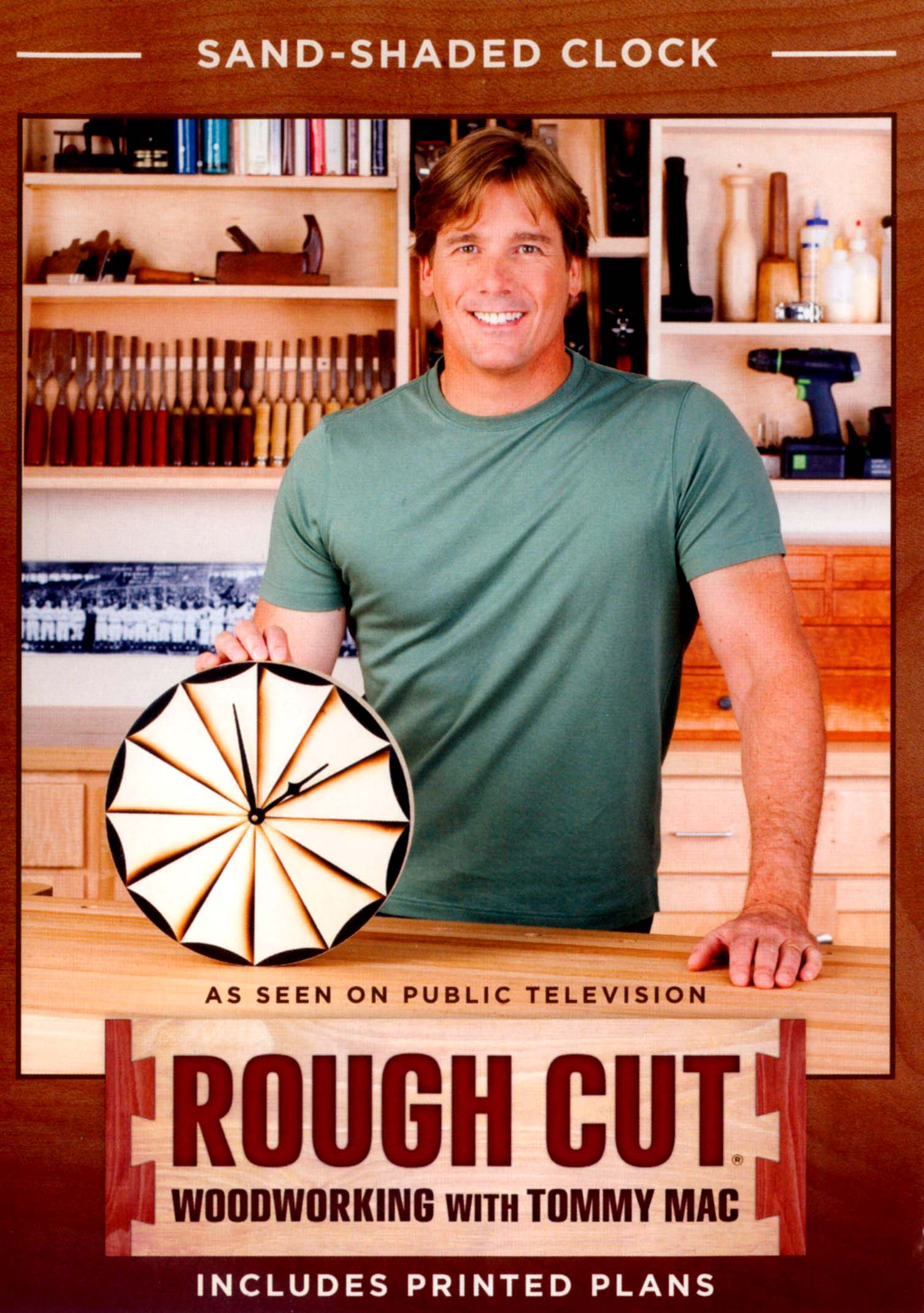 Rough Cut - Woodworking with Tommy Mac: Sand Shaded Clock